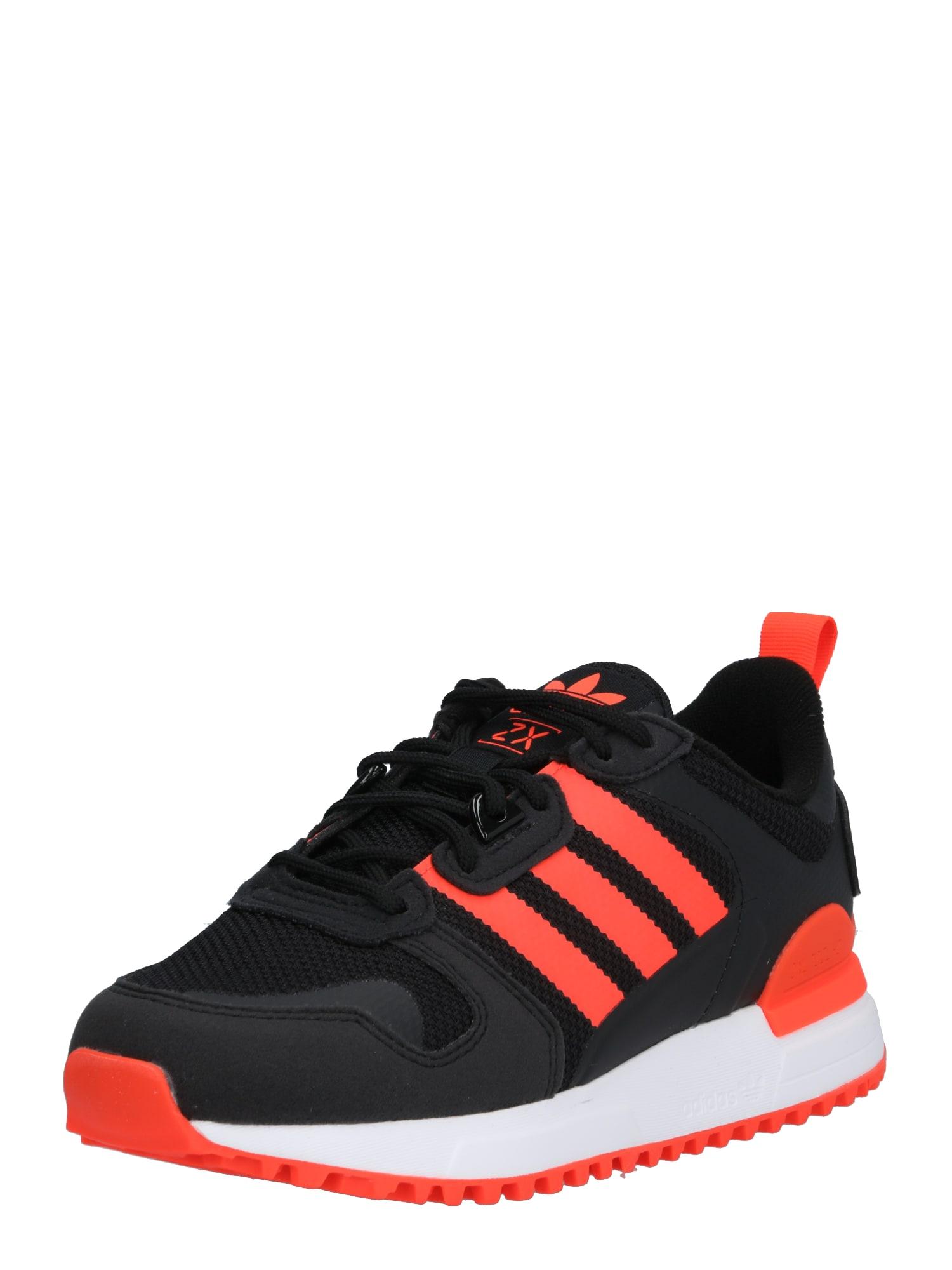 ADIDAS ORIGINALS Sportbačiai juoda / raudona