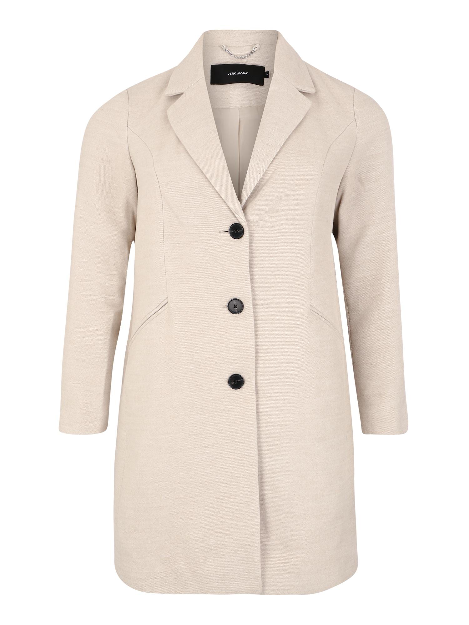 Vero Moda Curve Rudeninis-žieminis paltas 'CINDY' smėlio