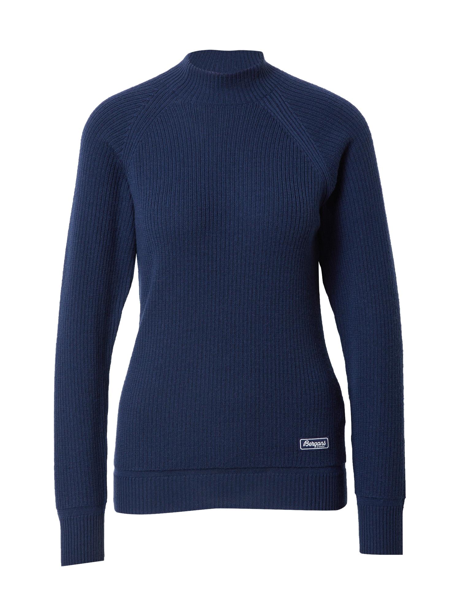 Bergans Sportinis megztinis tamsiai mėlyna