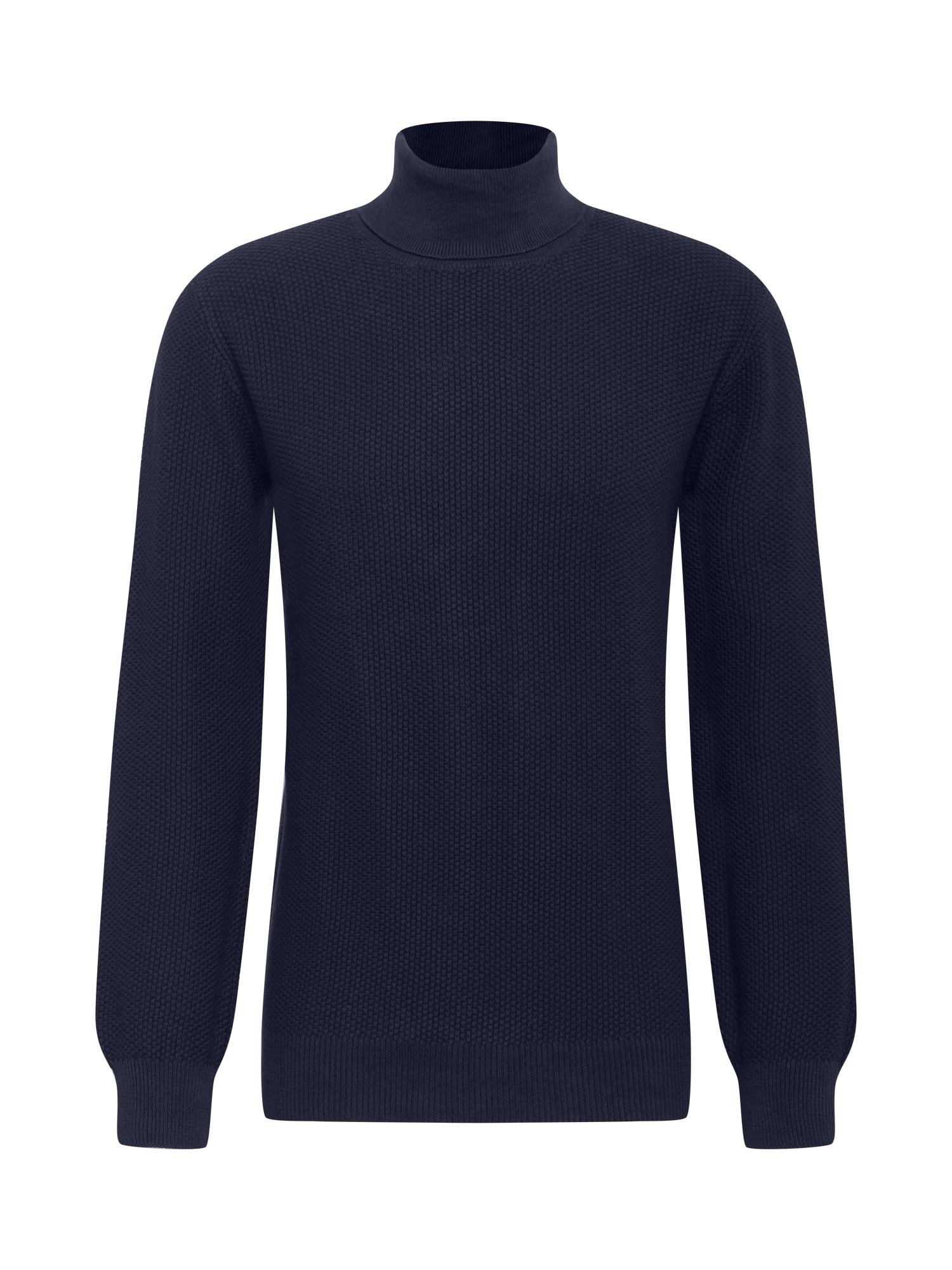 MELAWEAR Megztinis 'DILIP' tamsiai mėlyna