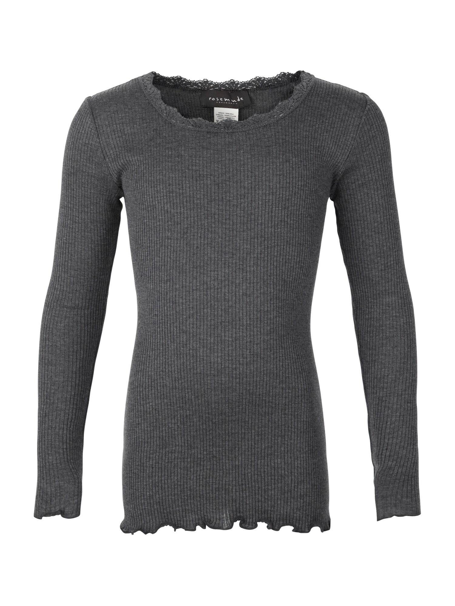 rosemunde Marškinėliai margai pilka