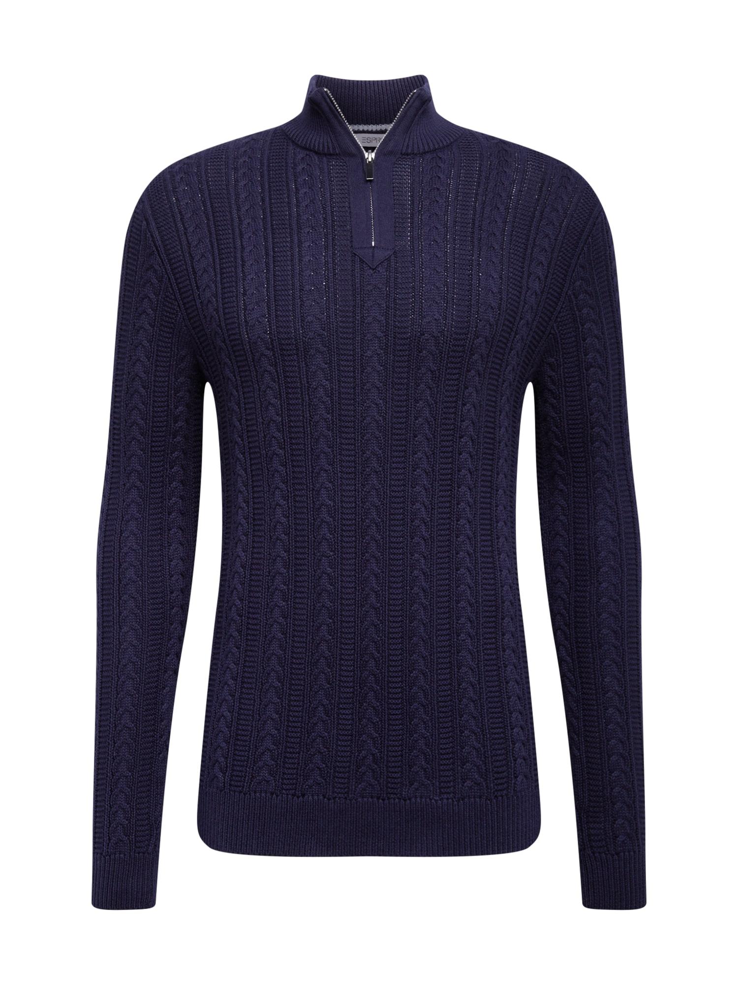ESPRIT Megztinis violetinė-mėlyna