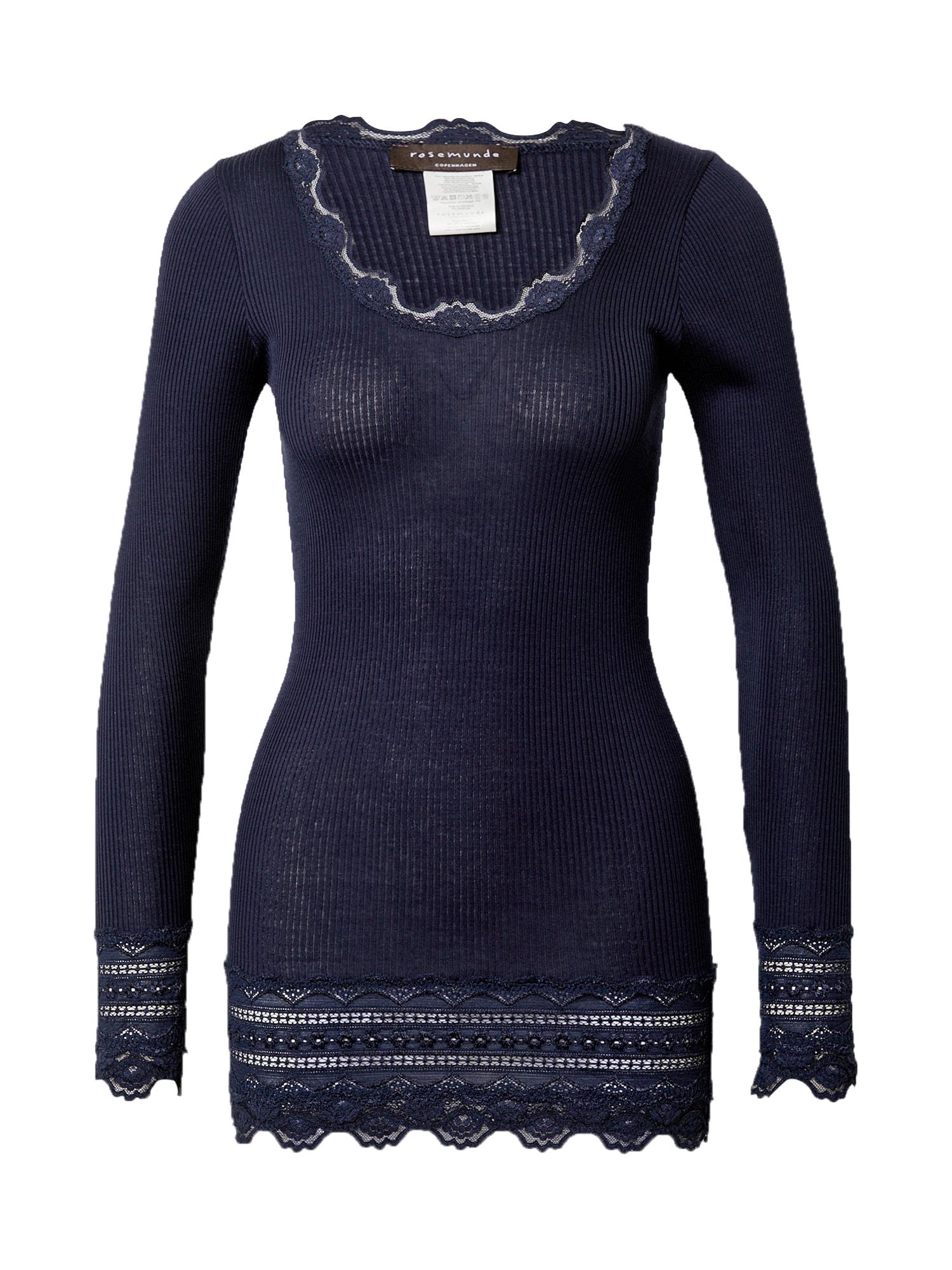 rosemunde Marškinėliai tamsiai mėlyna / balta