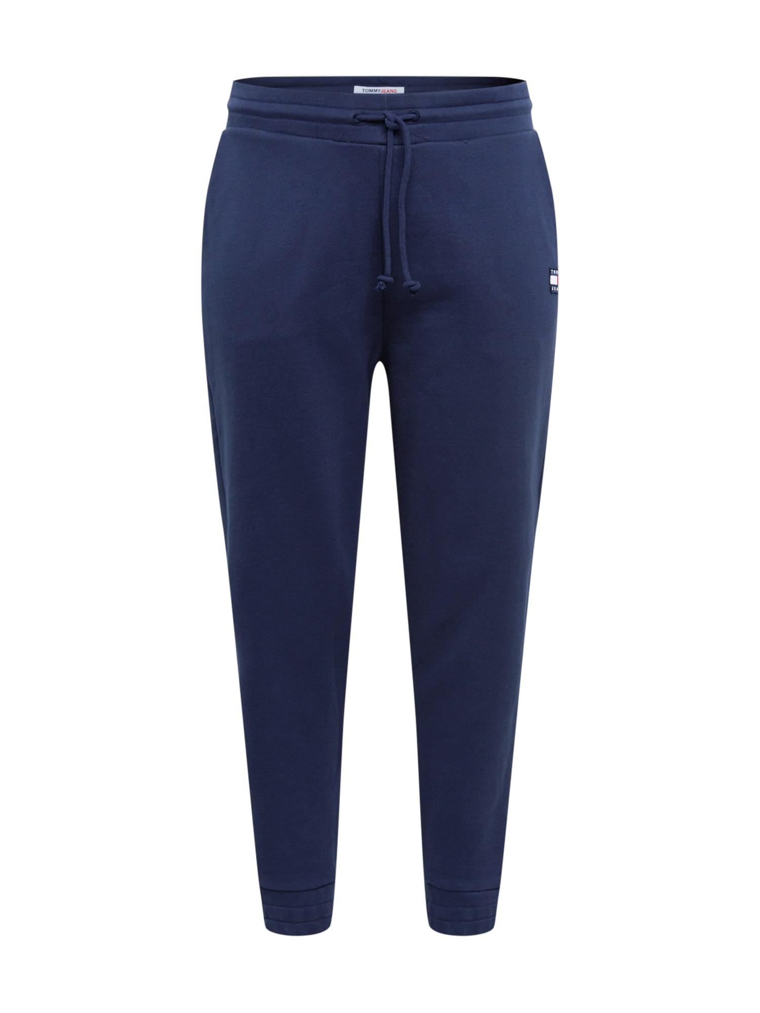 Tommy Jeans Curve Kelnės tamsiai mėlyna