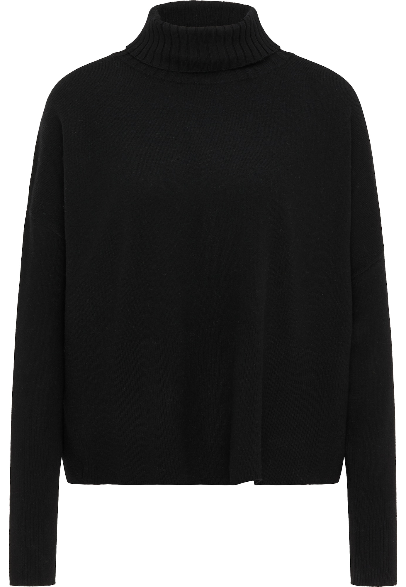 RISA Laisvas megztinis juoda