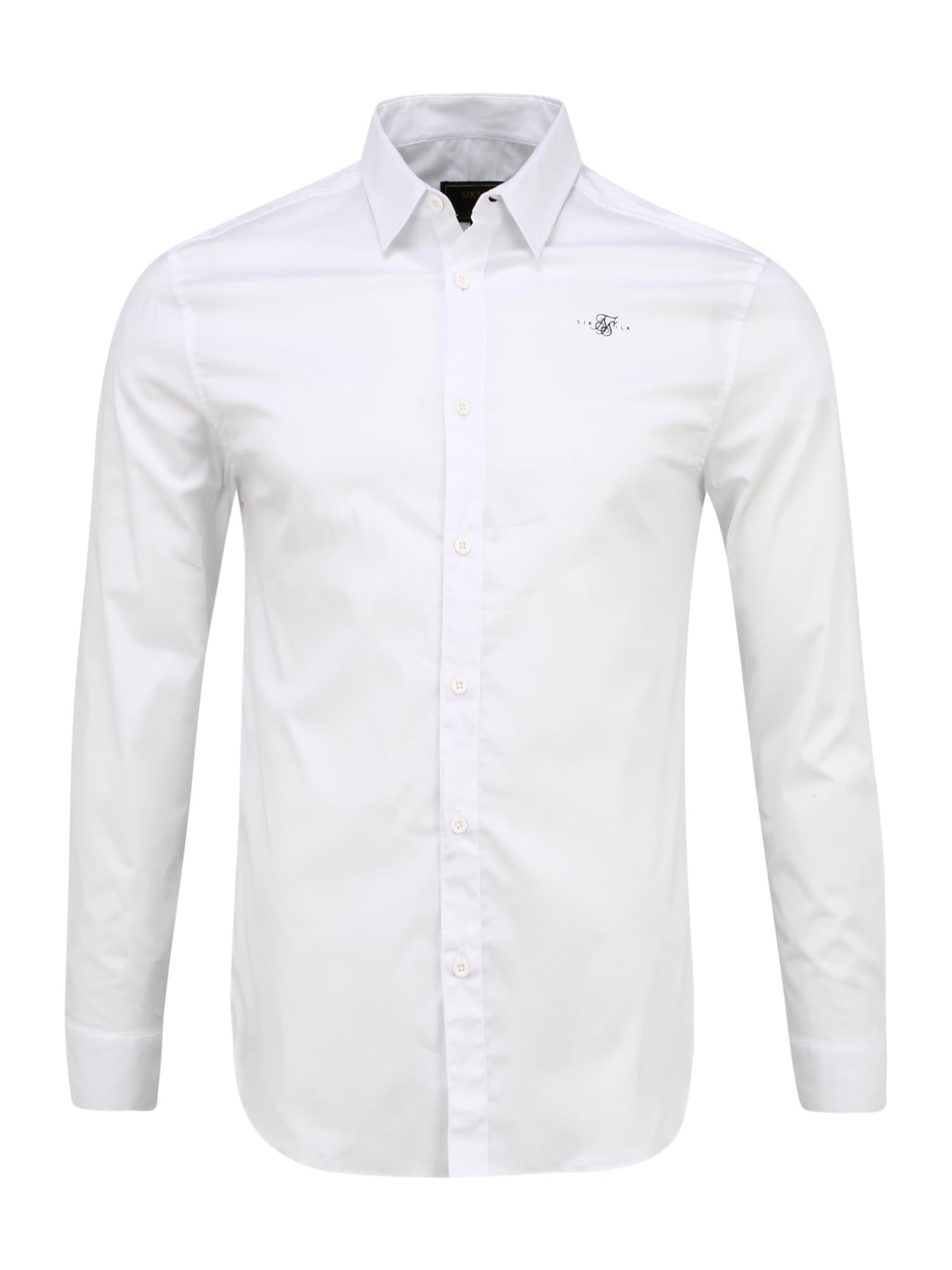 SikSilk Marškiniai balta