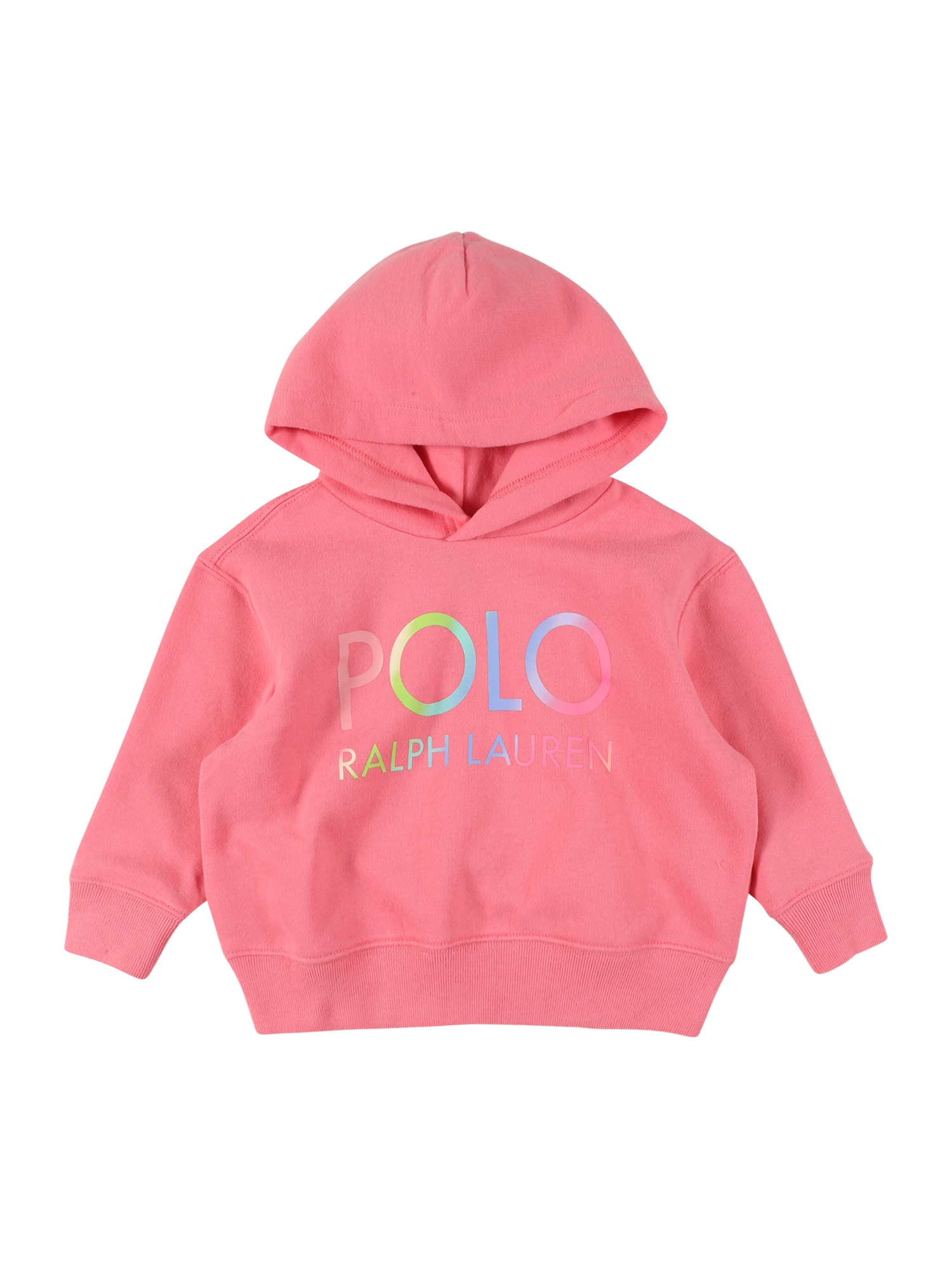POLO RALPH LAUREN Megztinis be užsegimo rožinė / kivių spalva / šviesiai mėlyna