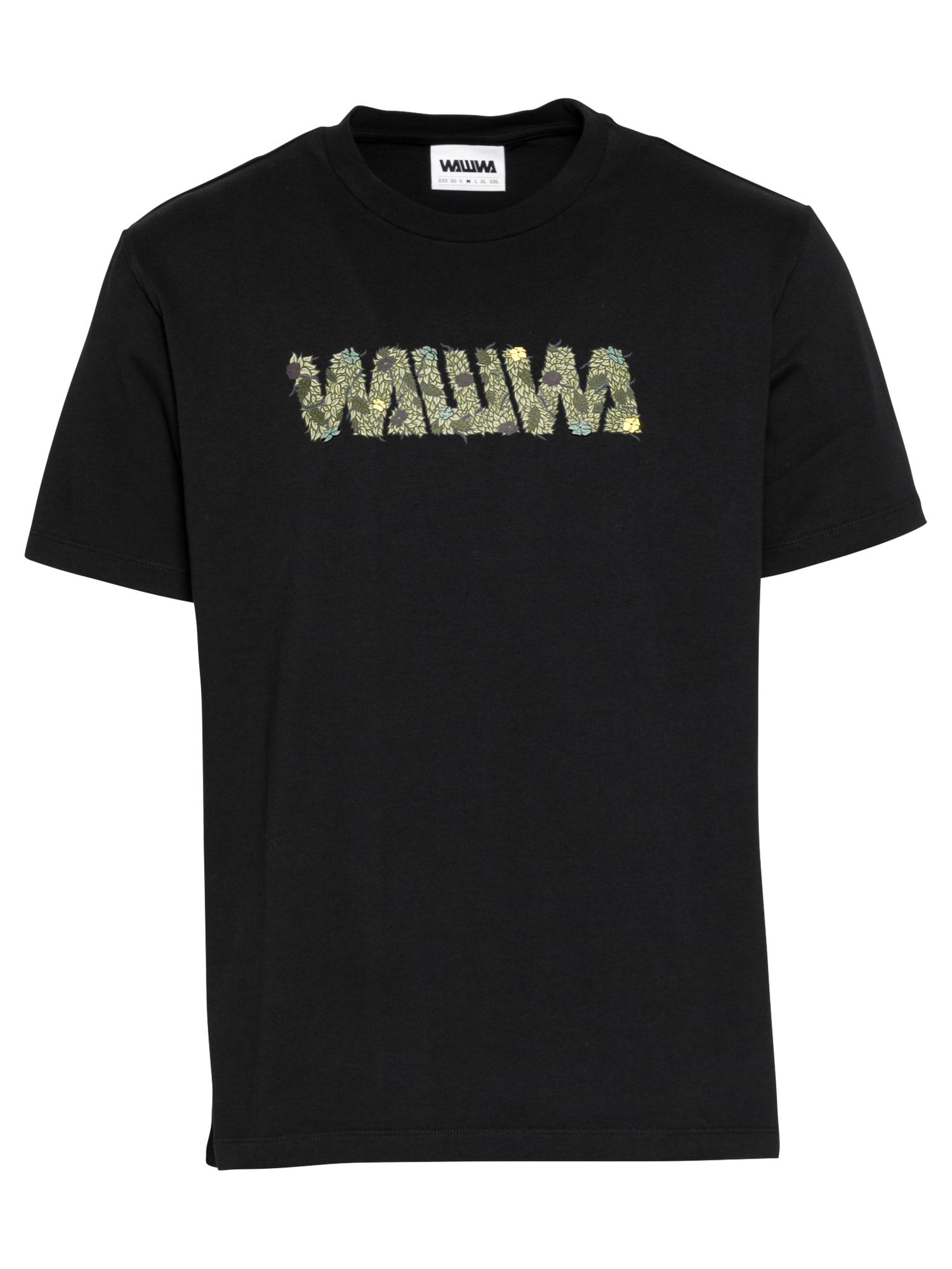 WAWWA Marškinėliai juoda / alyvuogių spalva / mėtų spalva / geltona / tamsiai mėlyna