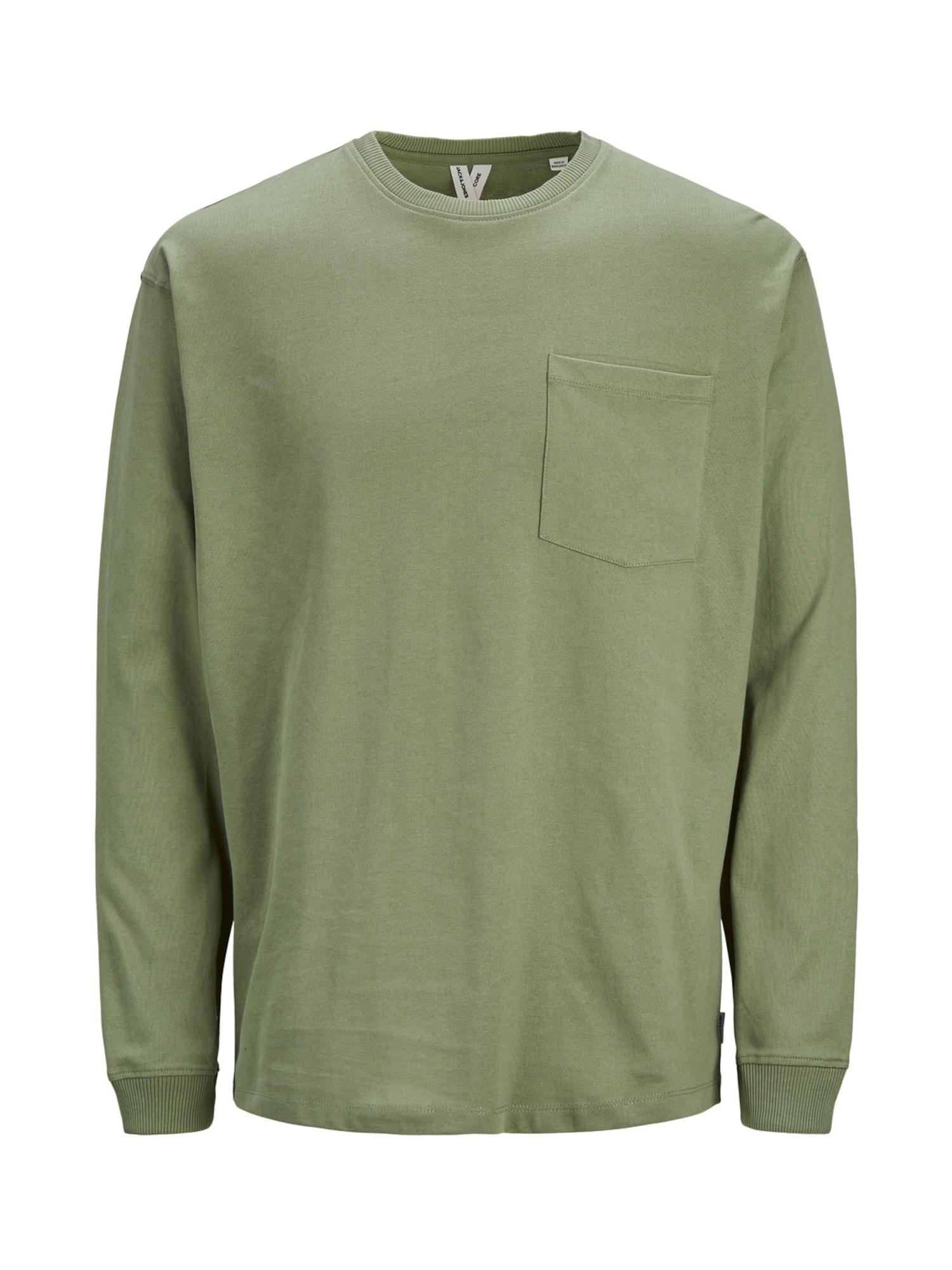 JACK & JONES Tričko  zelená