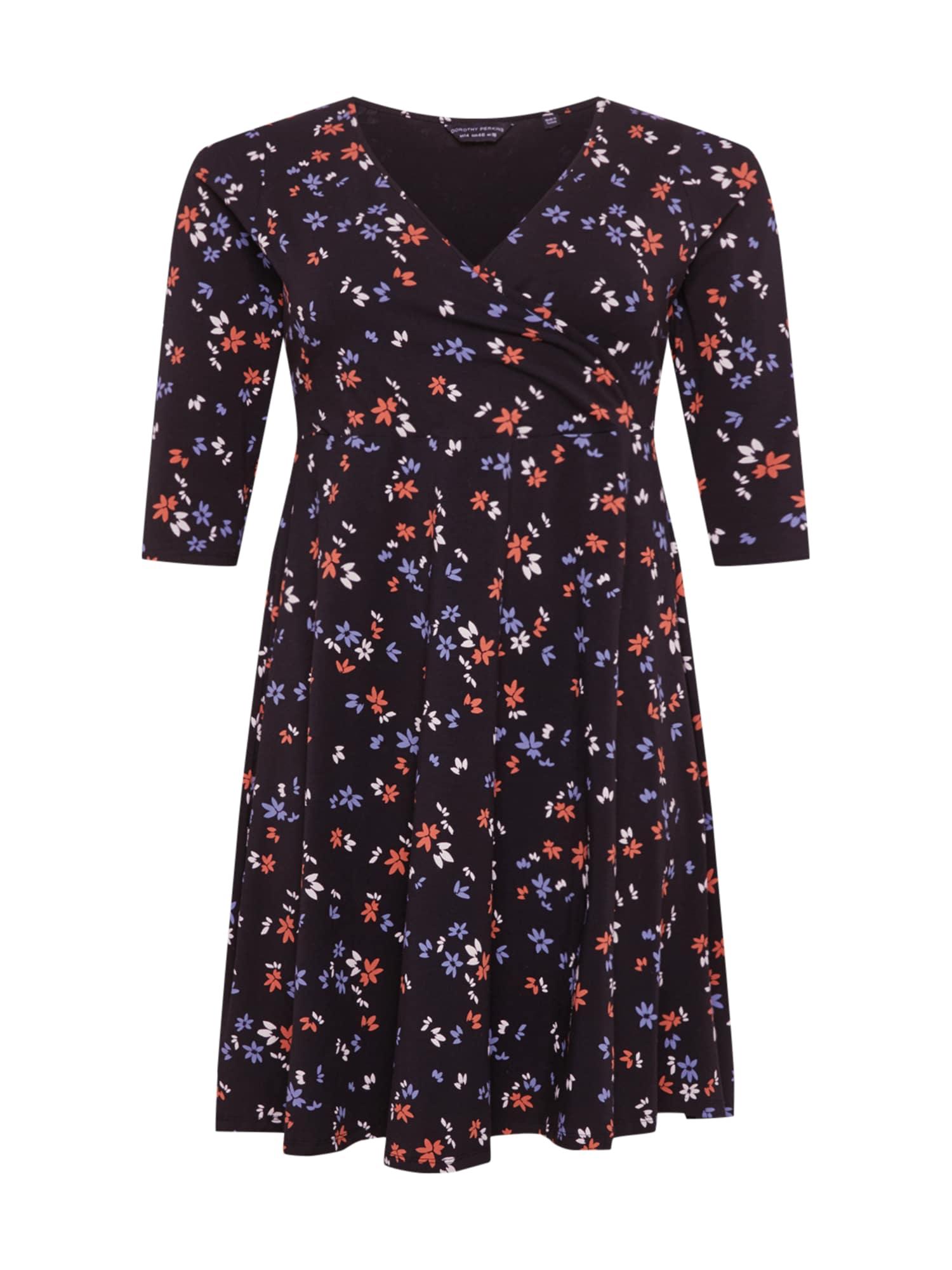 Dorothy Perkins Curve Suknelė mišrios spalvos / juoda