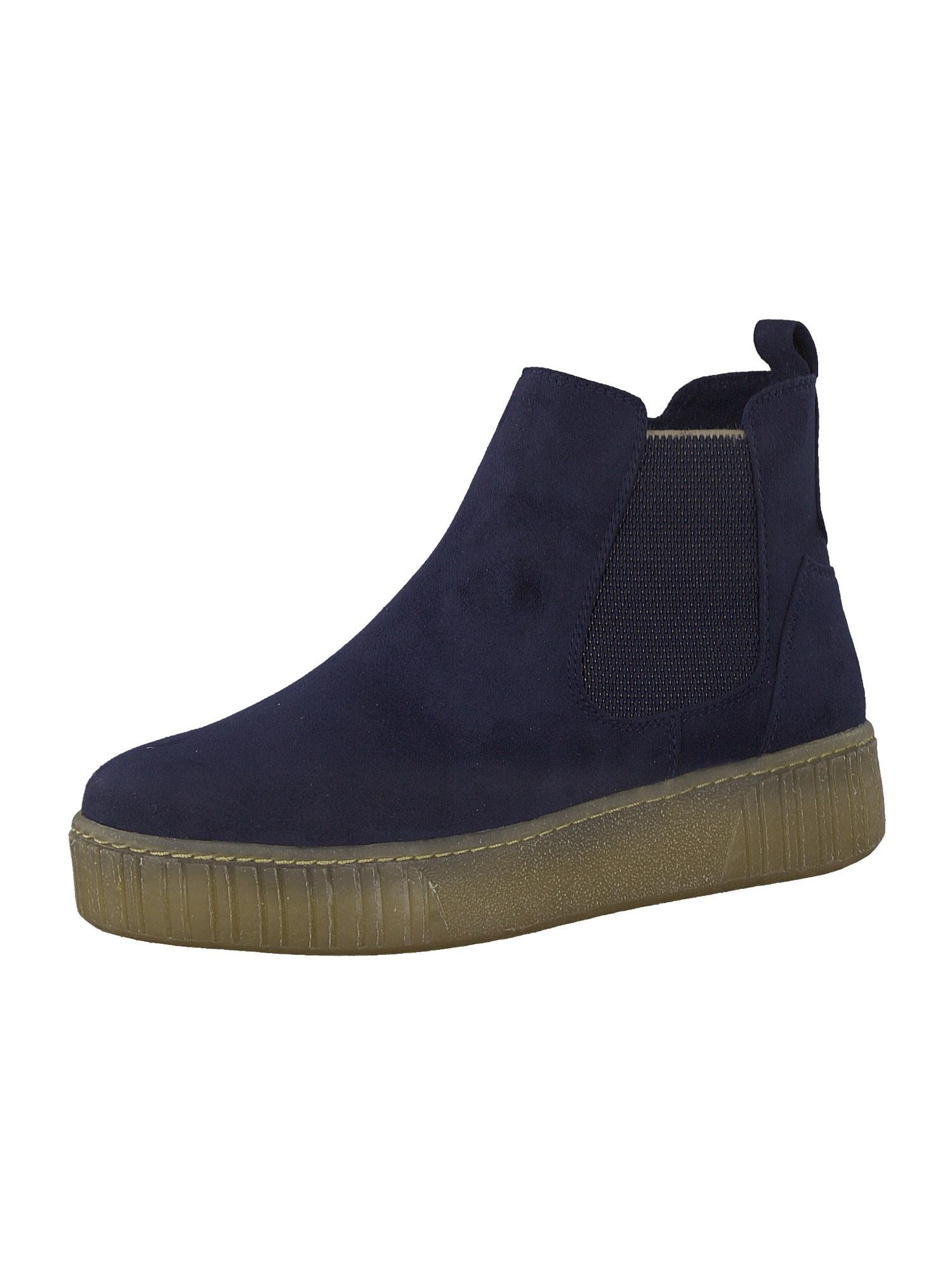 MARCO TOZZI Kulkšnis dengiantys batai tamsiai mėlyna