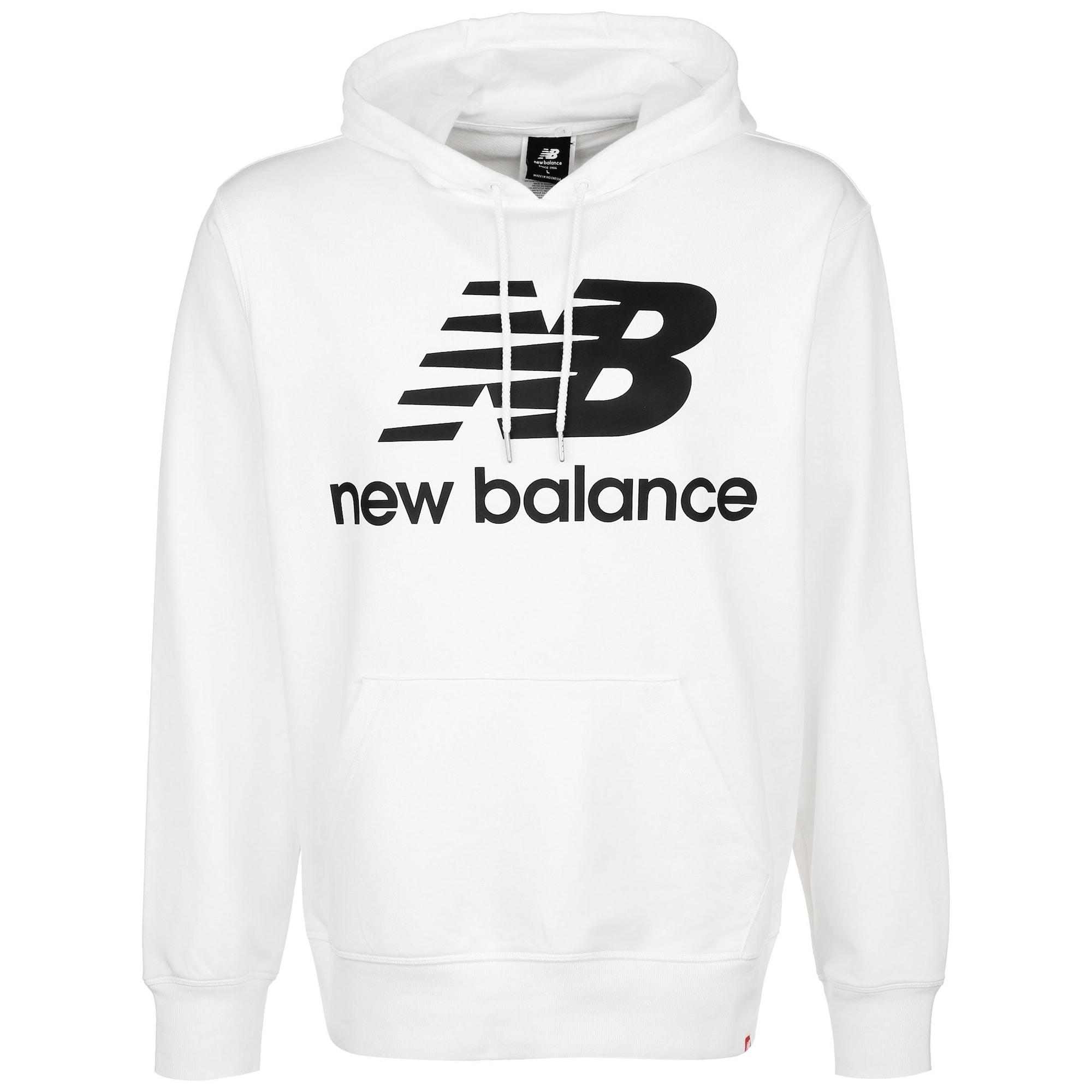 new balance Megztinis be užsegimo balta / juoda