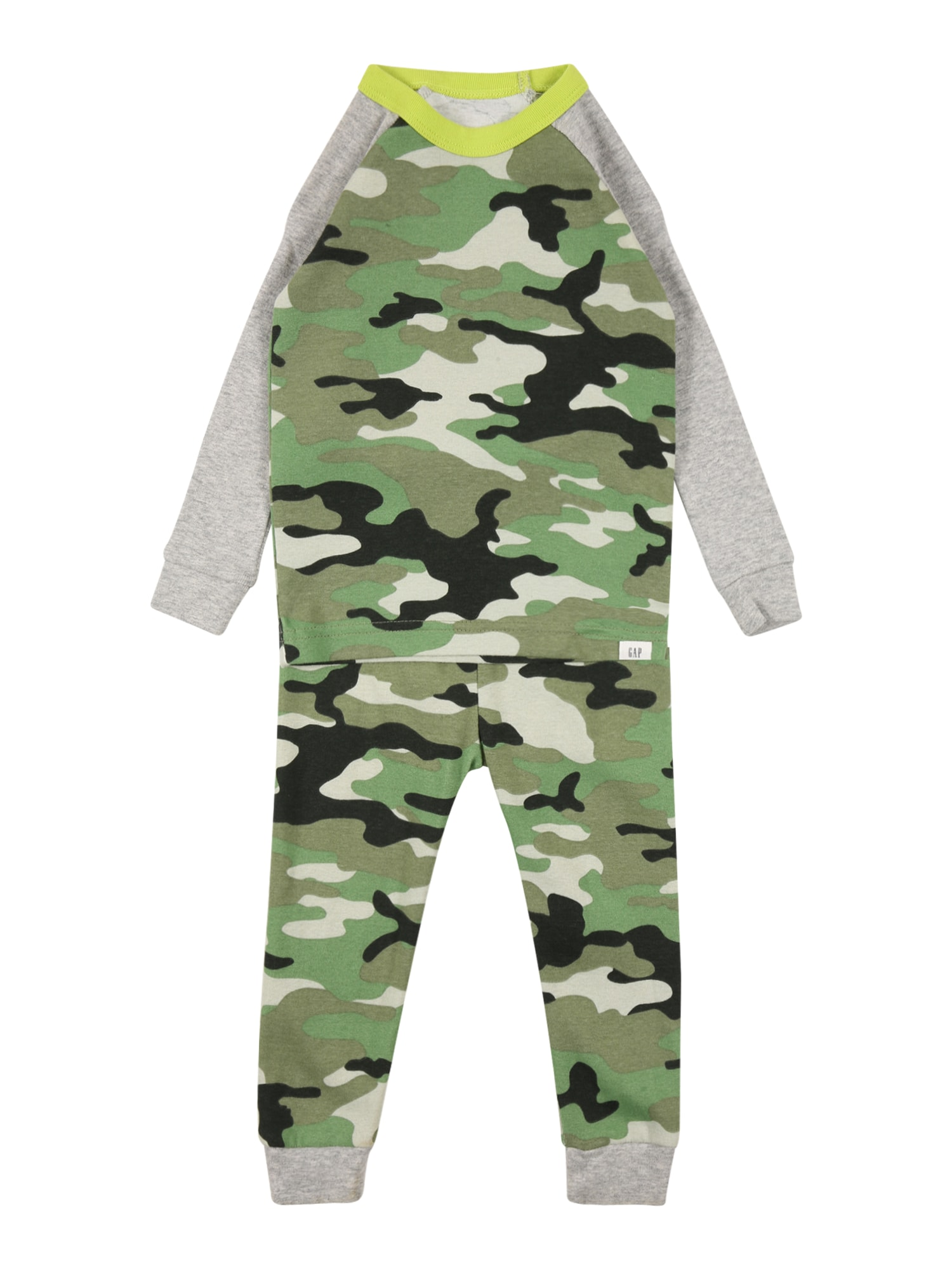 GAP Miego kostiumas margai pilka / rusvai žalia / alyvuogių spalva / juoda / mišrios spalvos