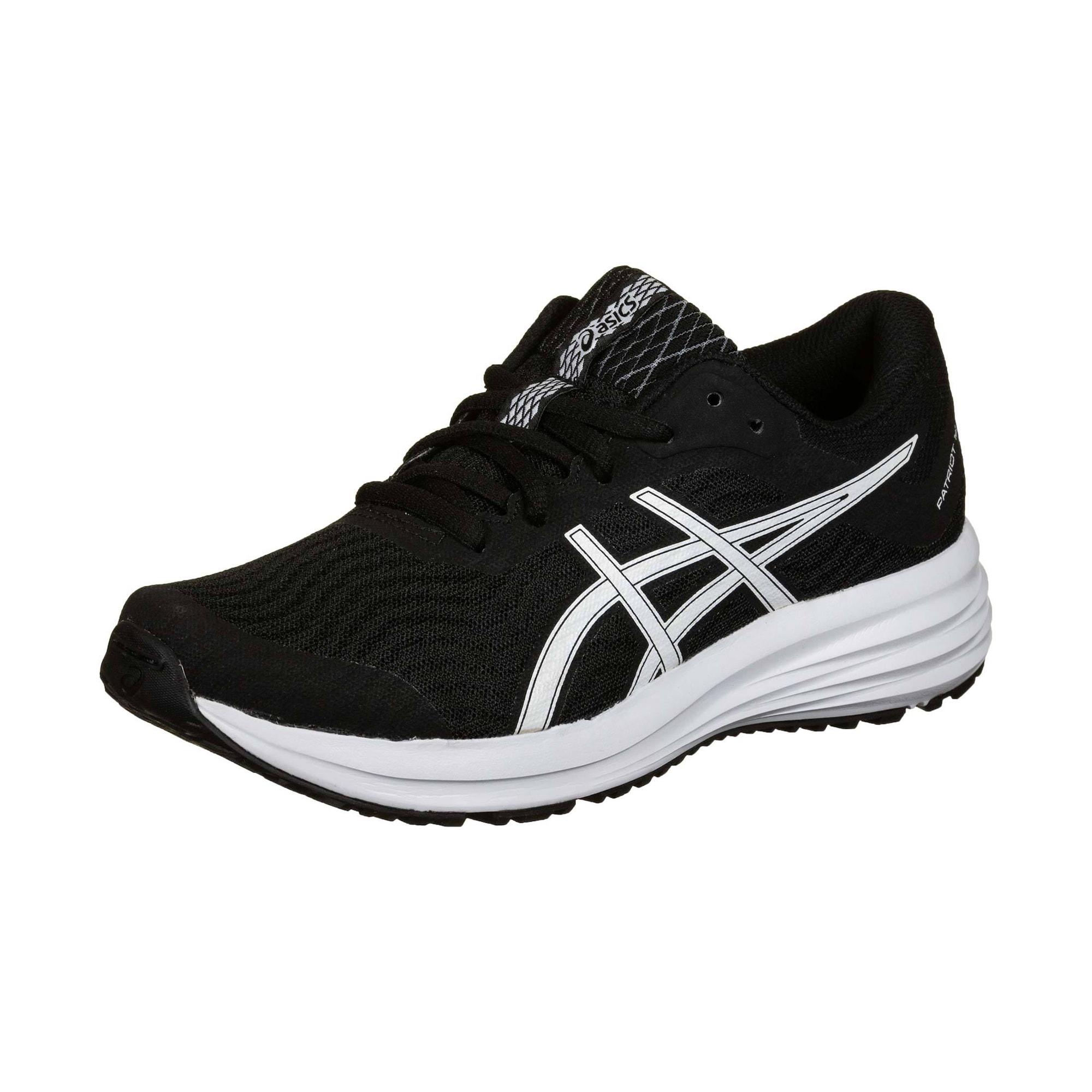 ASICS Sportiniai batai 'PATRIOT 12' balta / juoda
