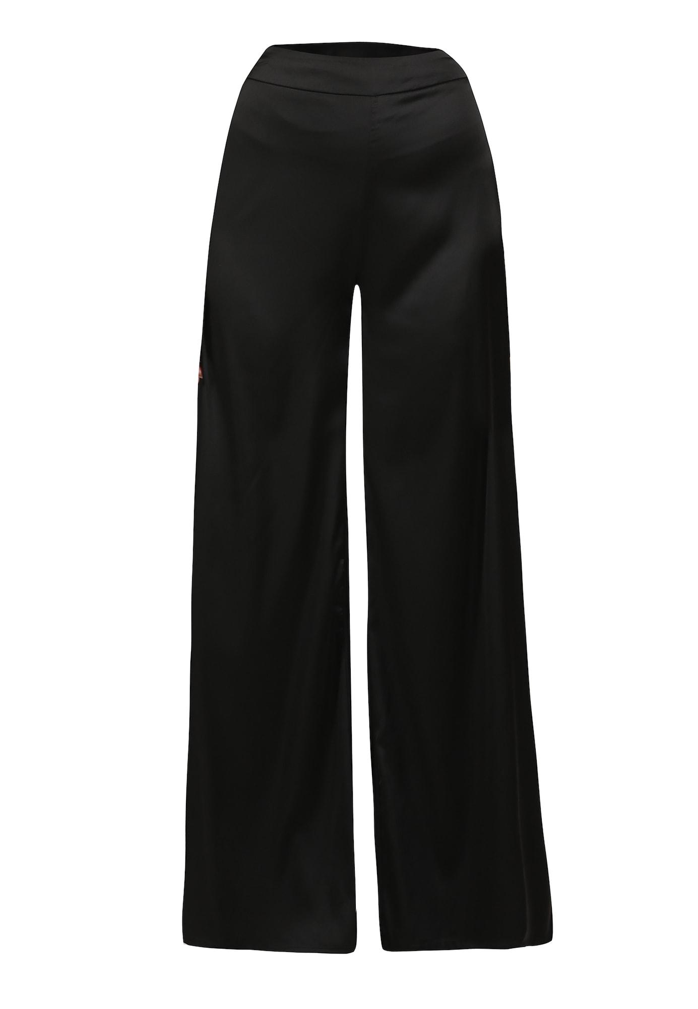 usha BLACK LABEL Kelnės juoda