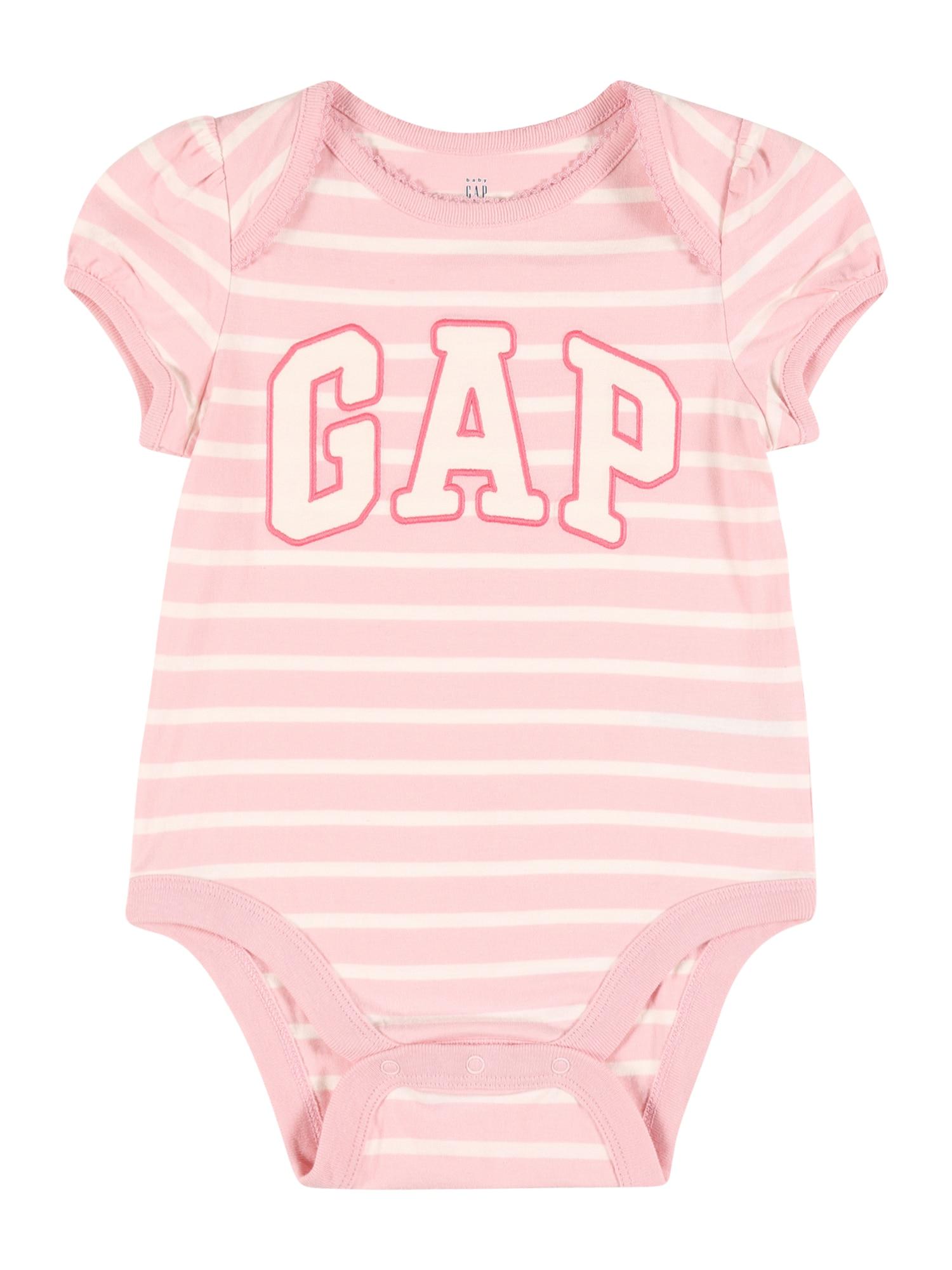 GAP Šliaužtinukas / glaustinukė rožinė / balta / ryškiai rožinė spalva