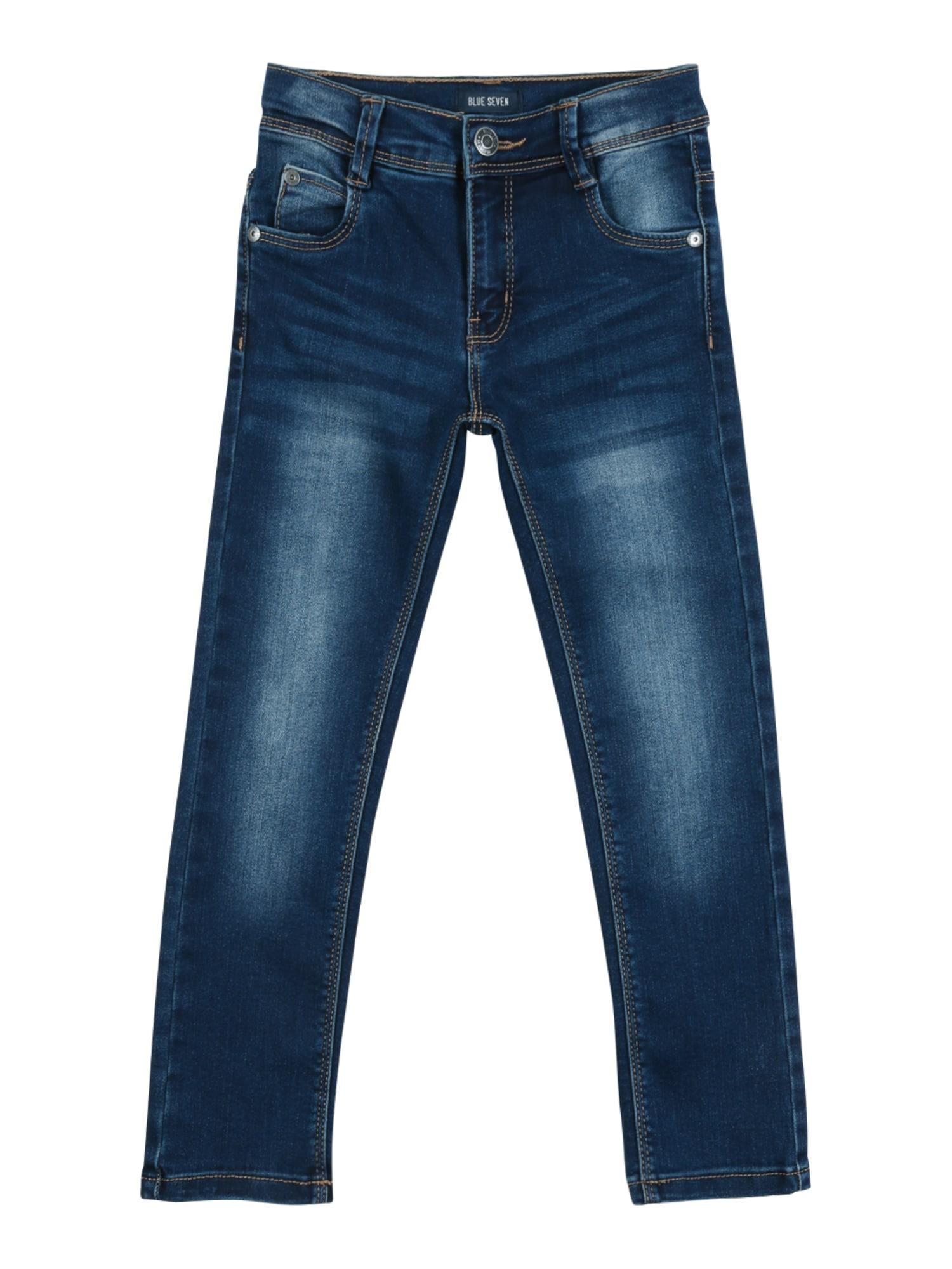 BLUE SEVEN Džínsy 'JogJeans'  tmavomodrá