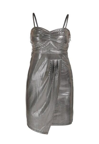 Festtagsmode - Kleid › myMo at night › silber schwarz  - Onlineshop ABOUT YOU