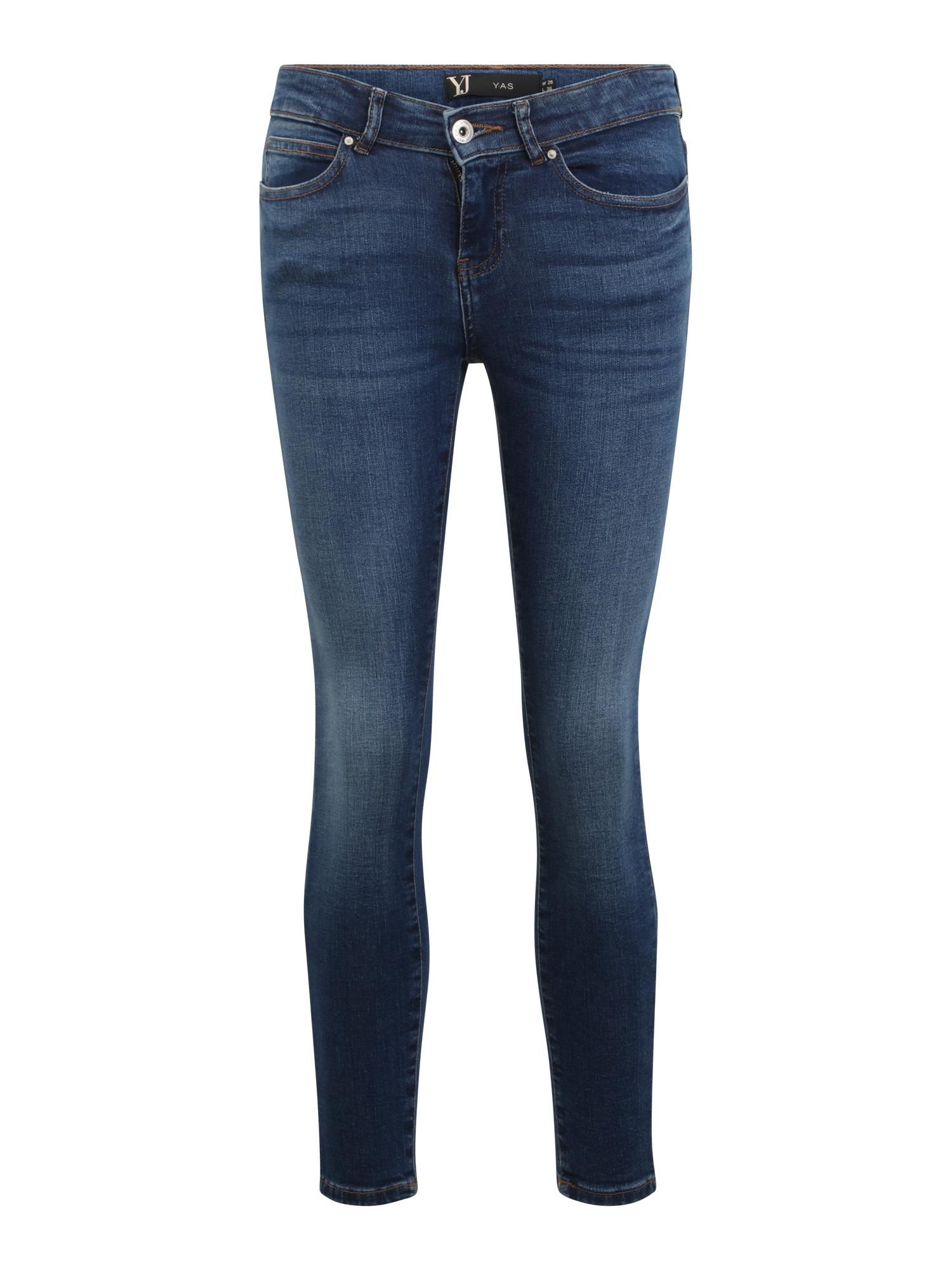 Noisy May Petite Džinsai tamsiai (džinso) mėlyna