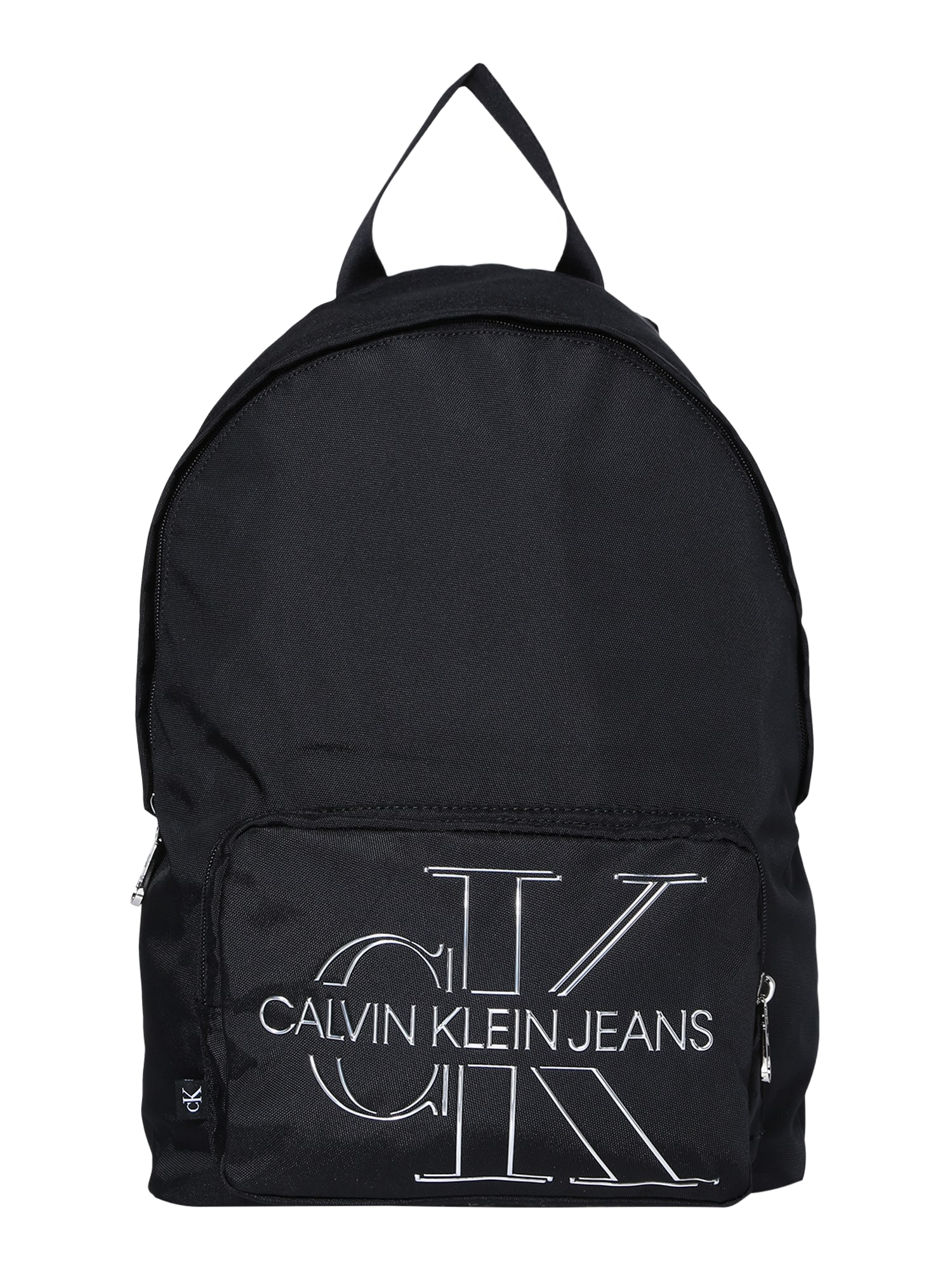 Calvin Klein Jeans Kuprinė 'CAMPUS' balta / juoda