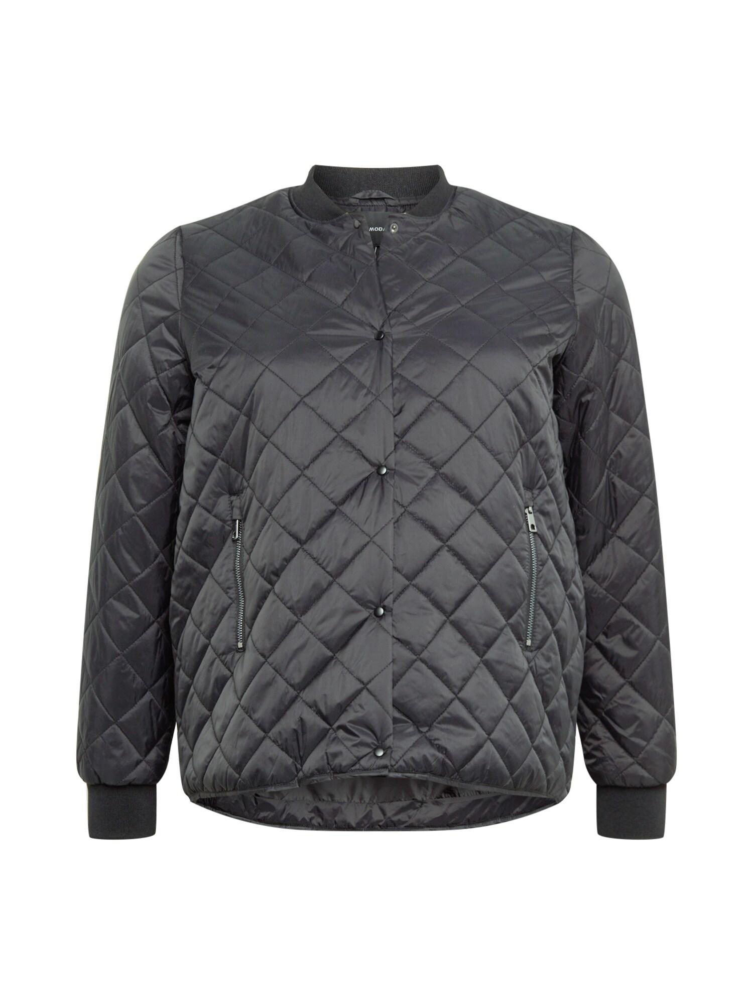 Vero Moda Curve Přechodná bunda 'VMHayle'  černý melír