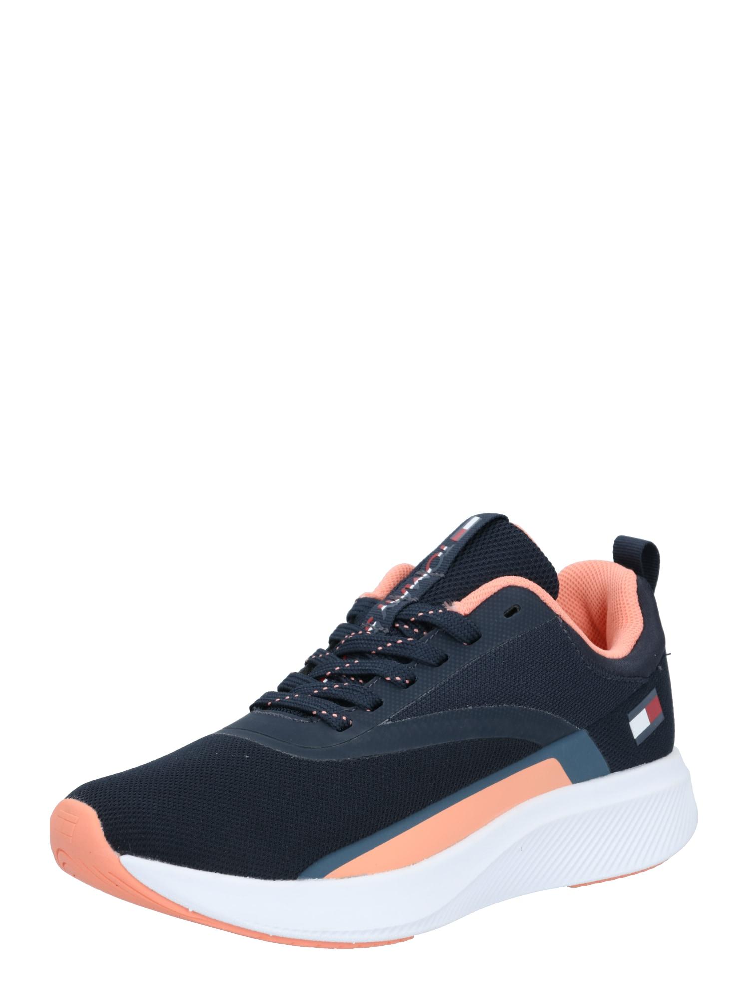 Tommy Sport Sportiniai batai rožinė / tamsiai mėlyna / balta