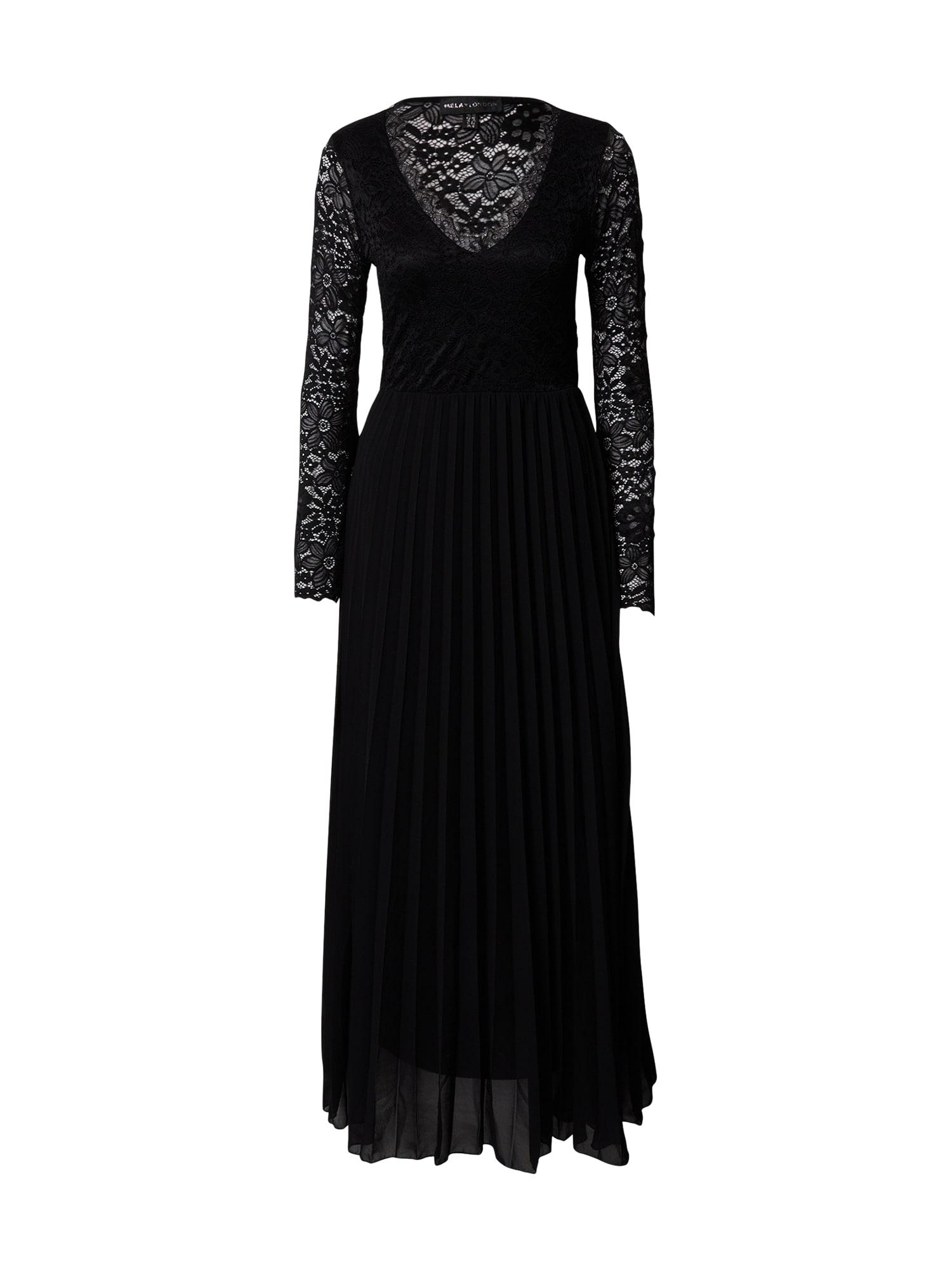 Mela London Vakarinė suknelė juoda