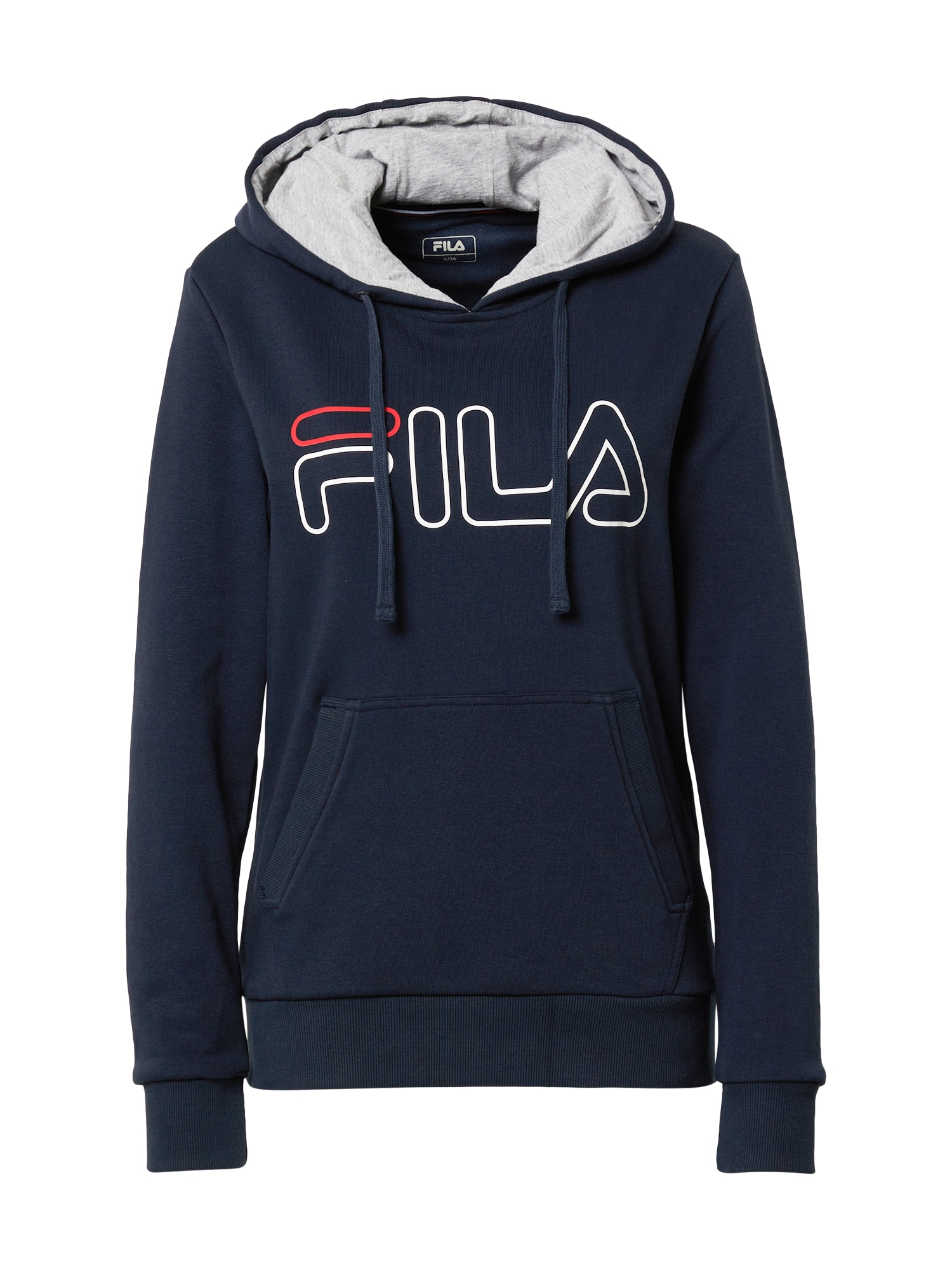 FILA Sportovní mikina 'Frida'  tmavě modrá / světle šedá