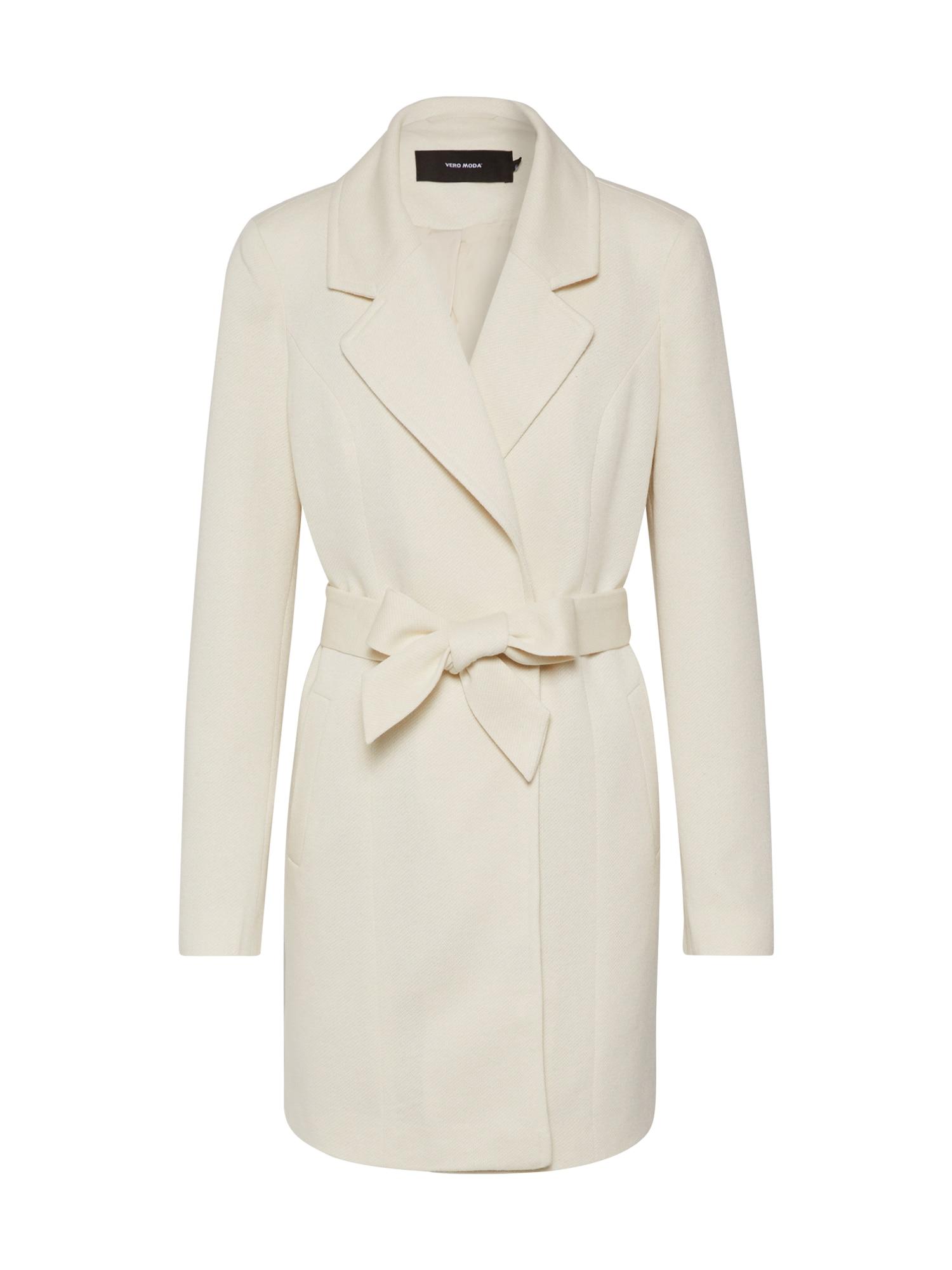 VERO MODA Rudeninis-žieminis paltas balkšva