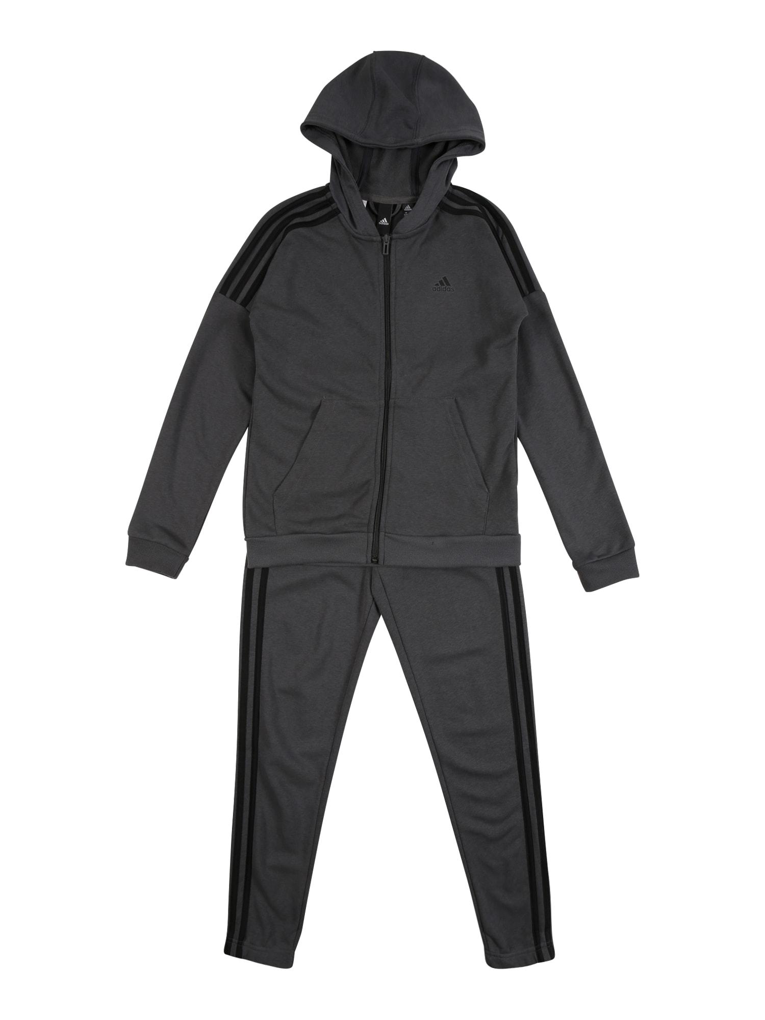 ADIDAS PERFORMANCE Sportovní oblečení  černá / tmavě šedá