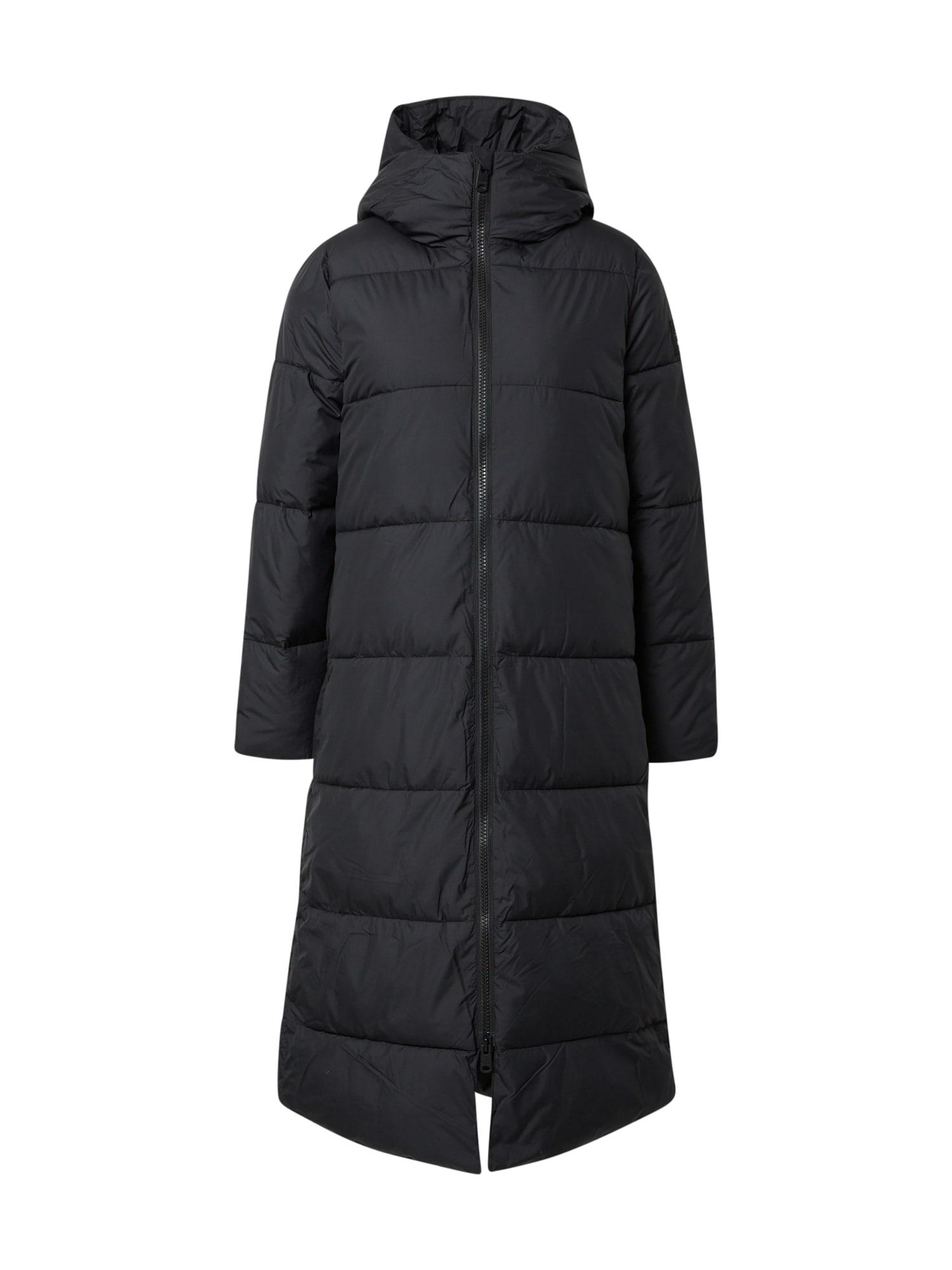 ECOALF Přechodný kabát  černá