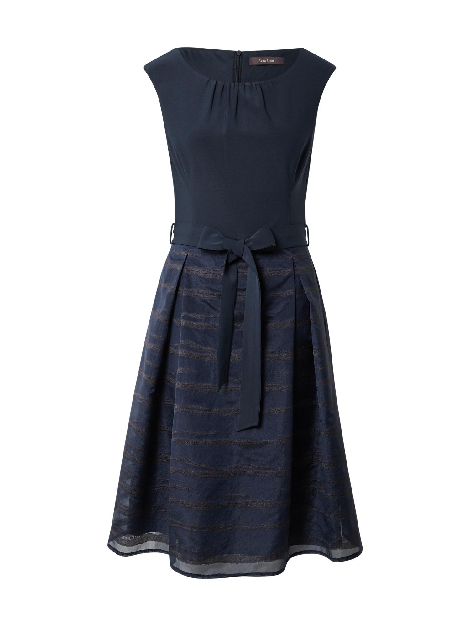 Vera Mont Kokteilinė suknelė nakties mėlyna / tamsiai pilka