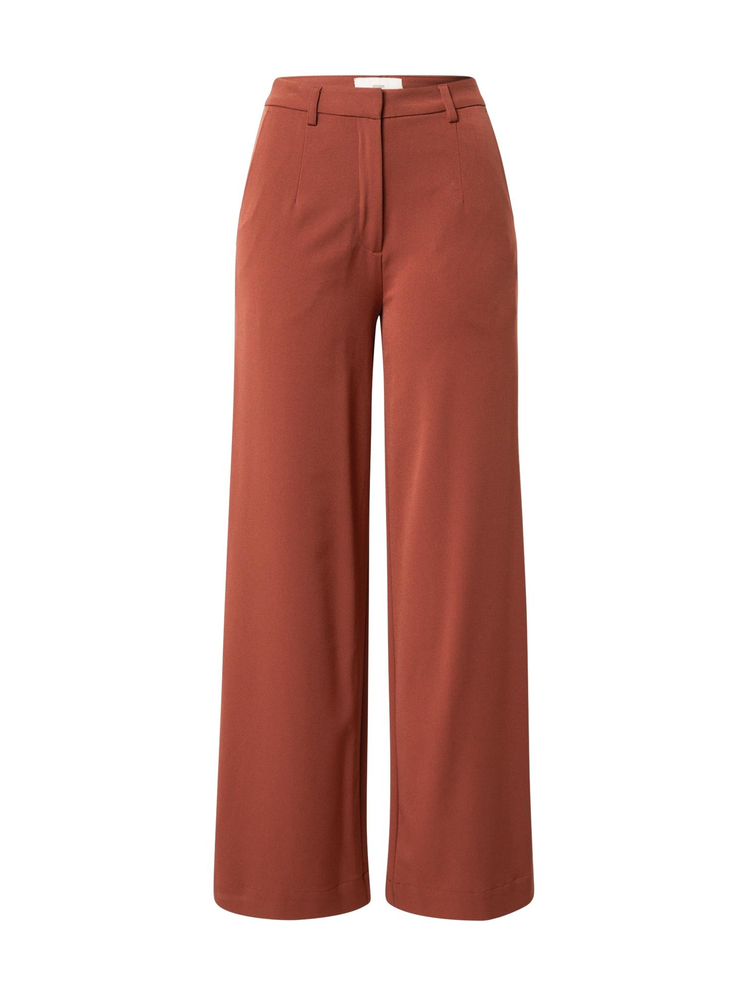 minimum Kalhoty  tmavě červená