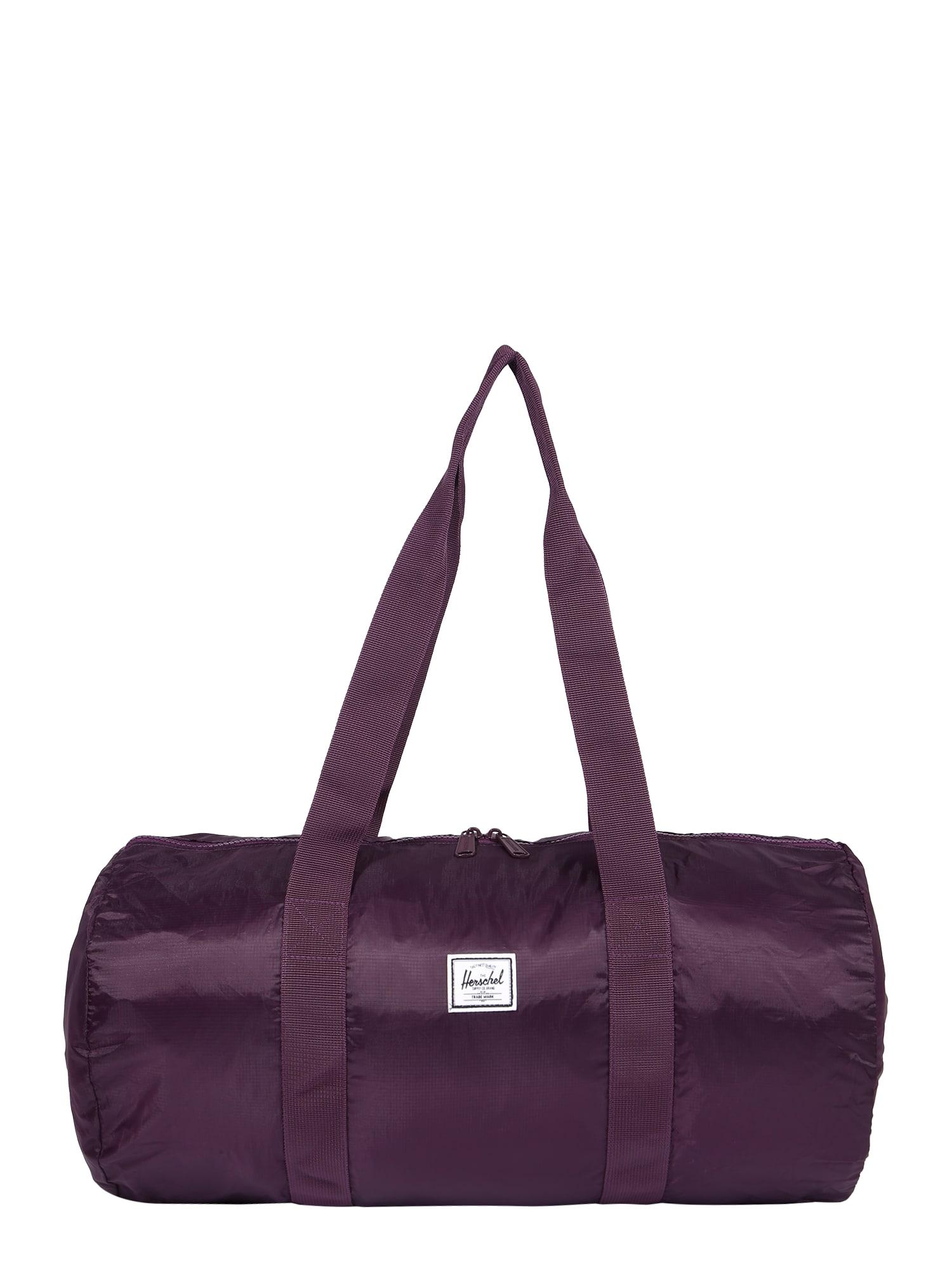 Herschel Cestovní taška  burgundská červeň