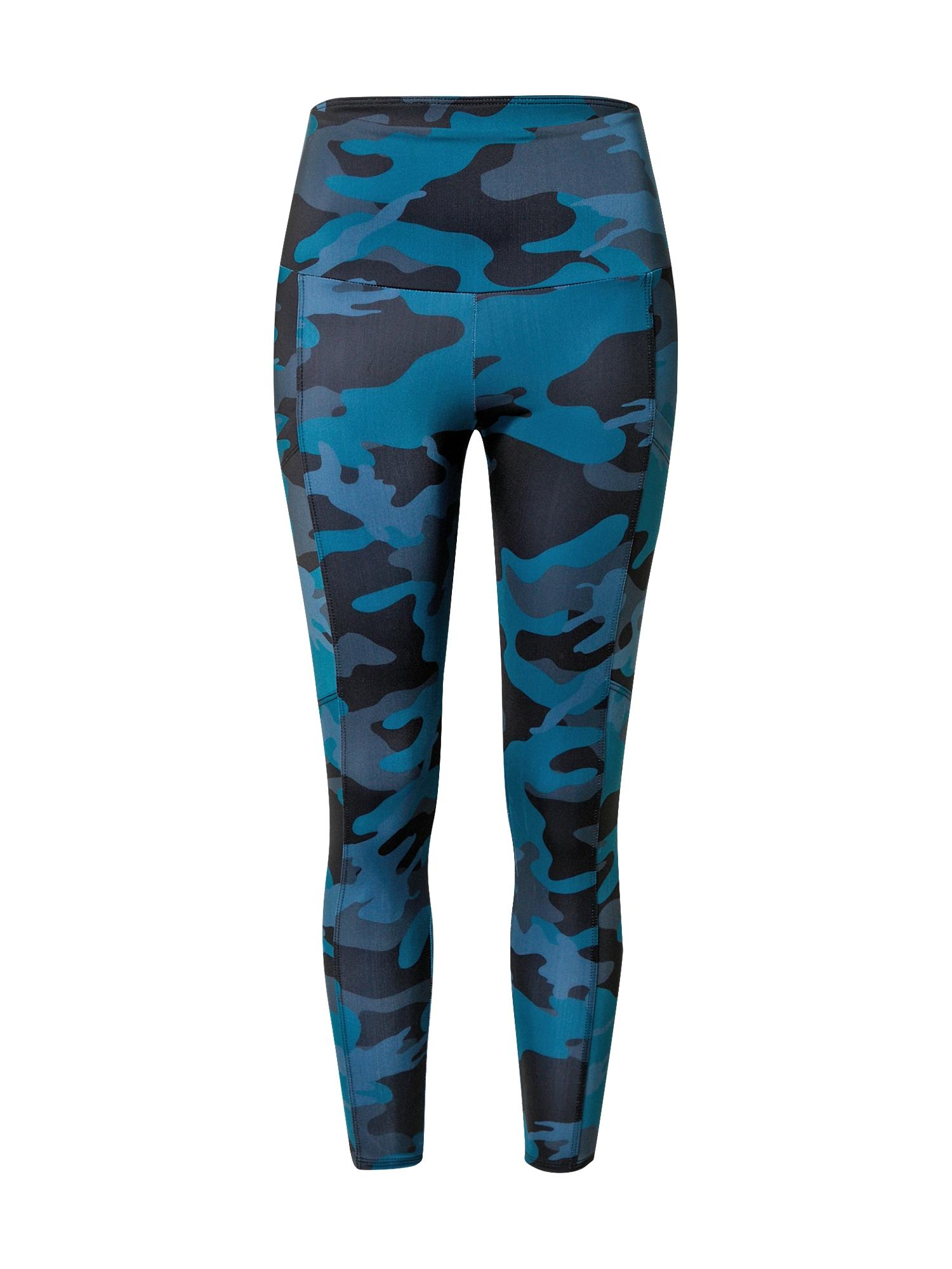 Onzie Sportovní kalhoty  černá / královská modrá / chladná modrá