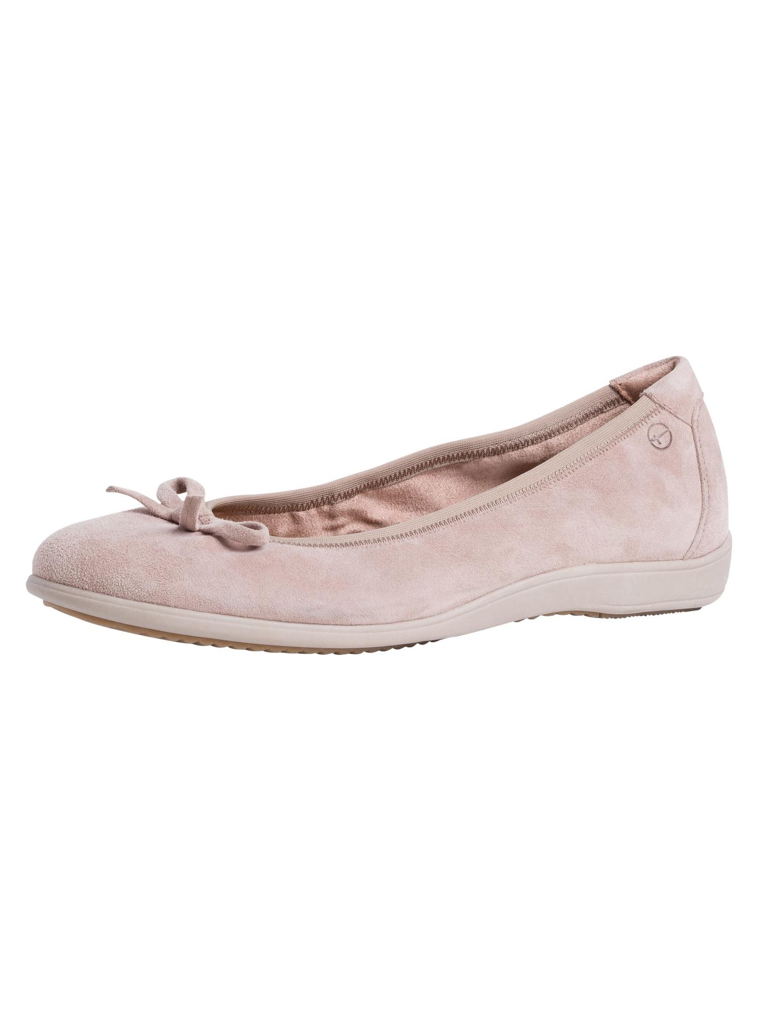 TAMARIS Balerinos ryškiai rožinė spalva