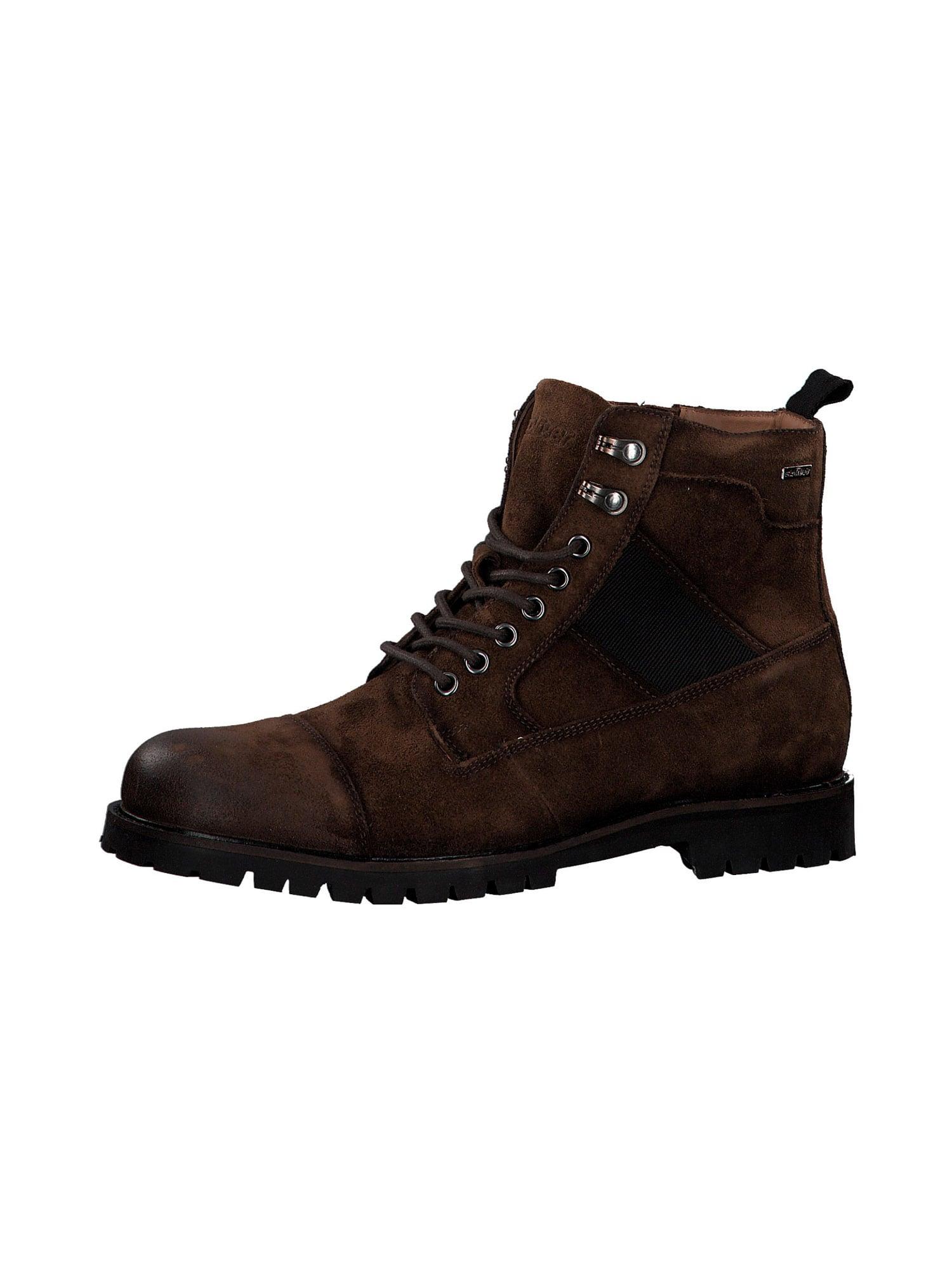 s.Oliver Auliniai batai su raišteliais ruda
