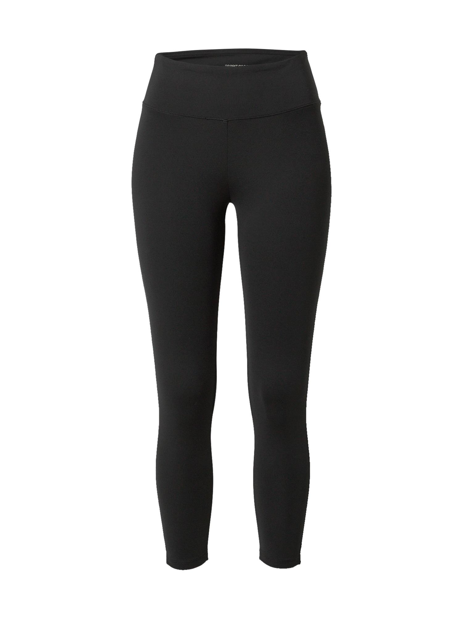 ESPRIT SPORT Sportovní kalhoty  černá