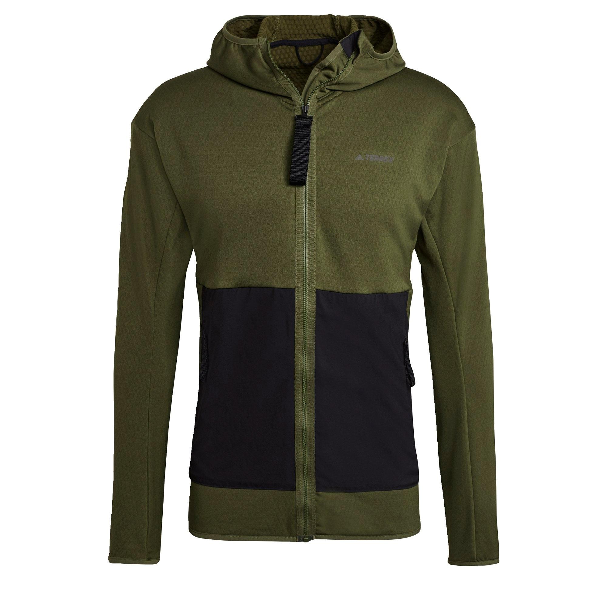 ADIDAS PERFORMANCE Sportinis džemperis nakties mėlyna / rusvai žalia