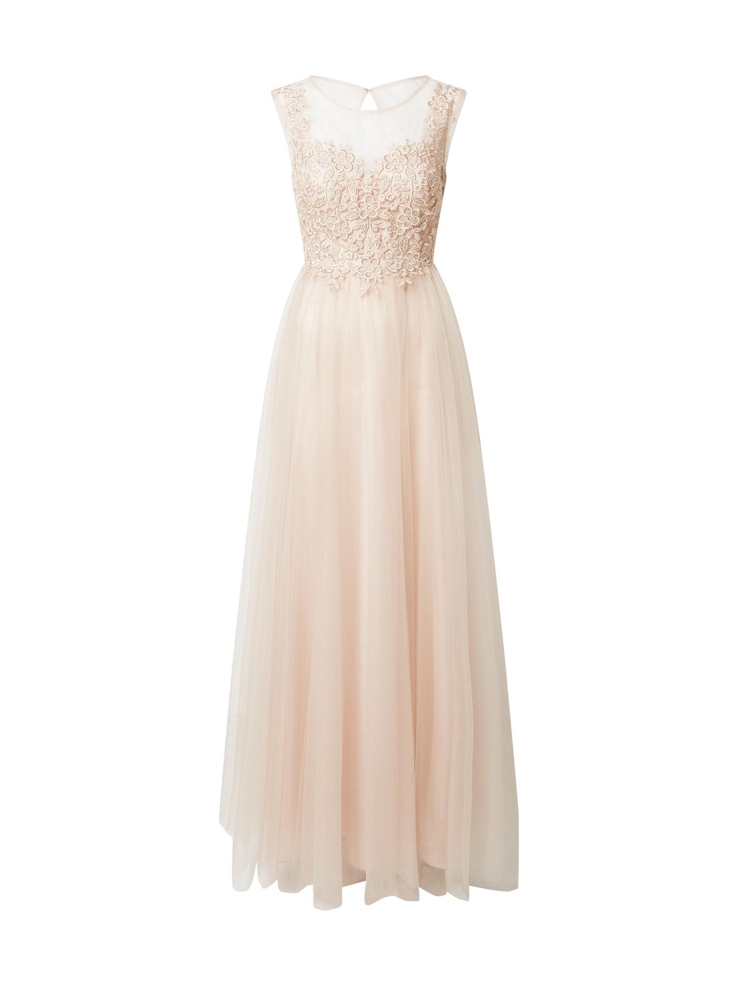 Laona Vakarinė suknelė smėlio spalva