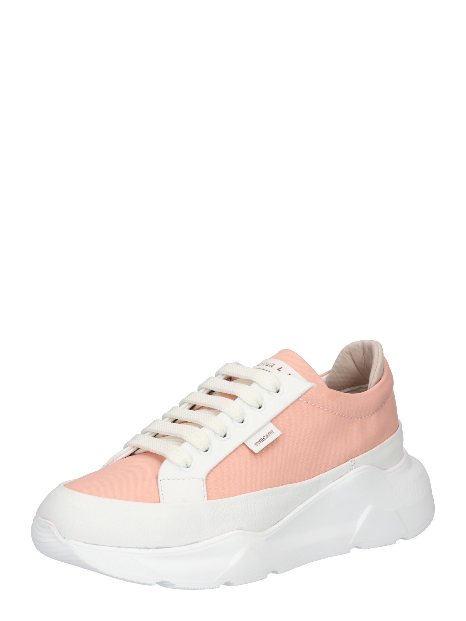 Greyderlab Sportbačiai be auliuko balta / ryškiai rožinė spalva