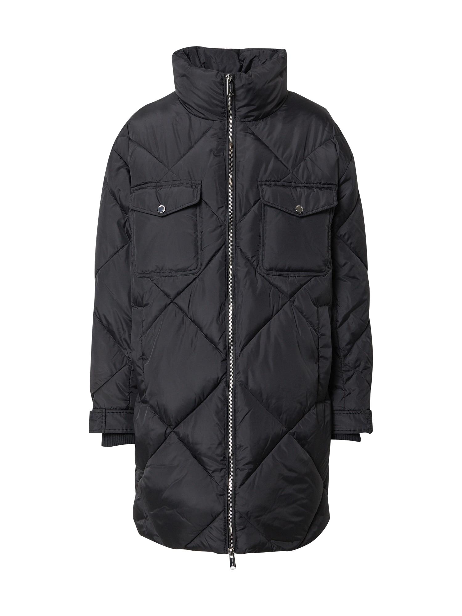 Tommy Jeans Přechodný kabát 'Diamond'  černá