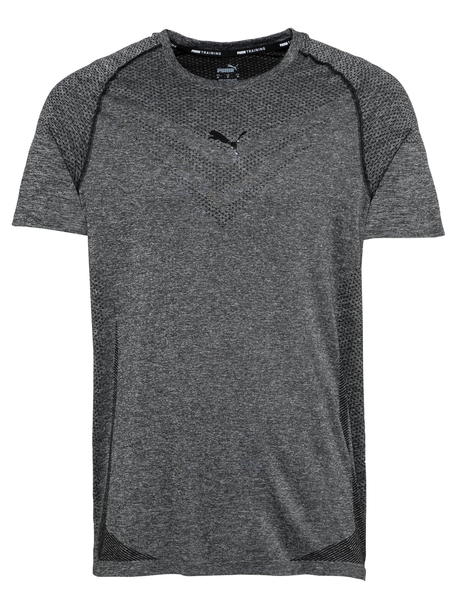 PUMA Sportiniai marškinėliai margai juoda