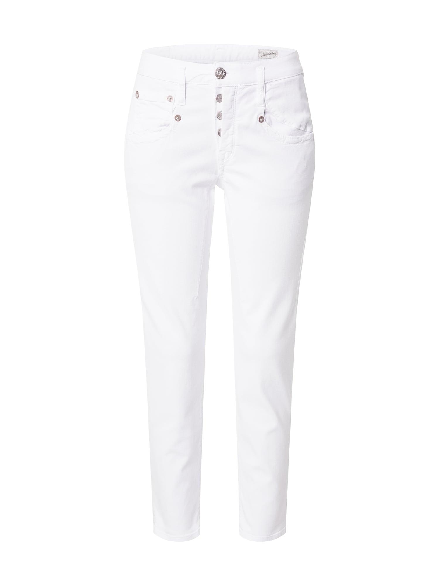 Herrlicher Džinsai balto džinso spalva