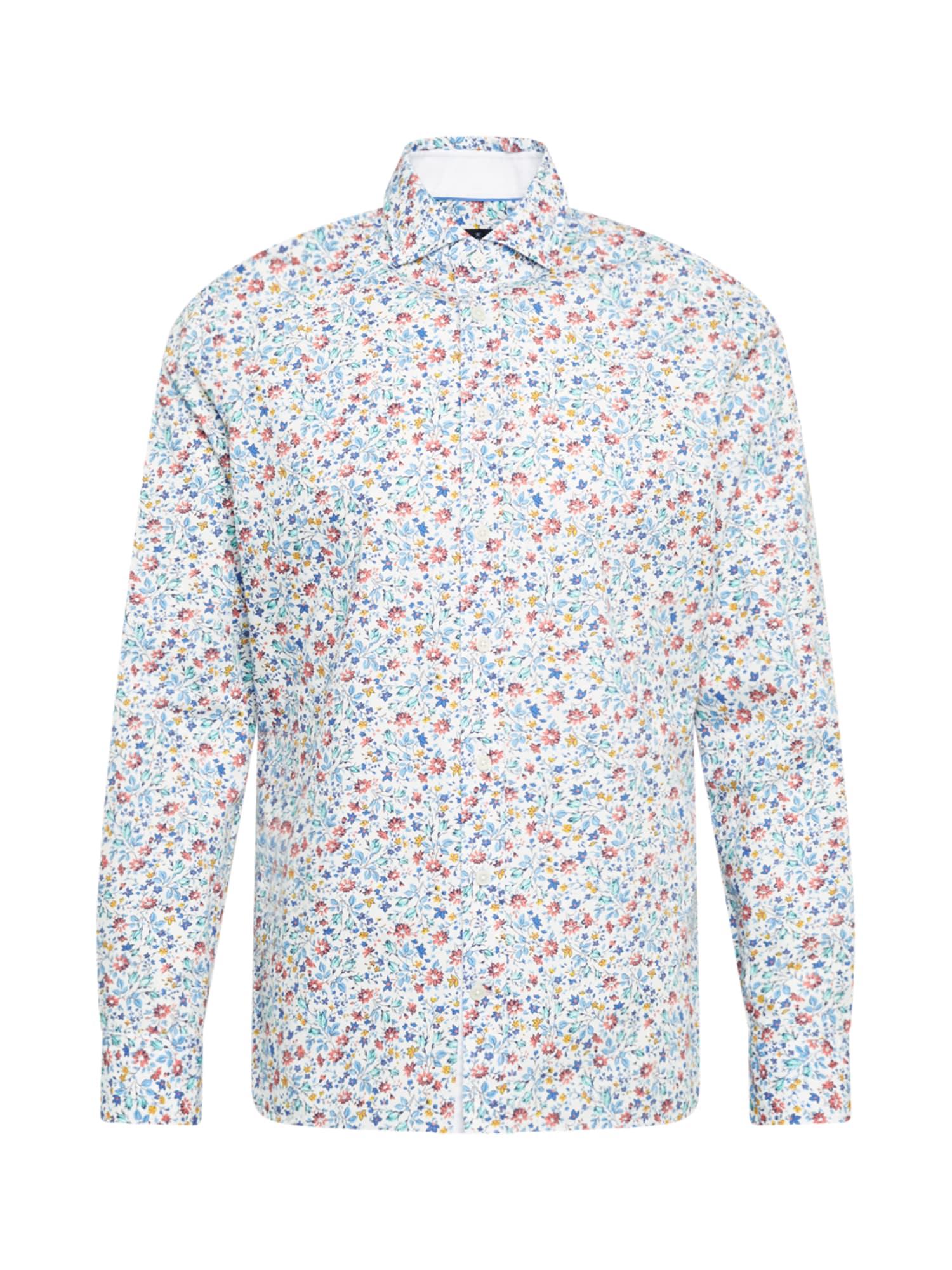Hackett London Marškiniai mišrios spalvos / balta / mėlyna / šviesiai mėlyna / geltona / pastelinė raudona
