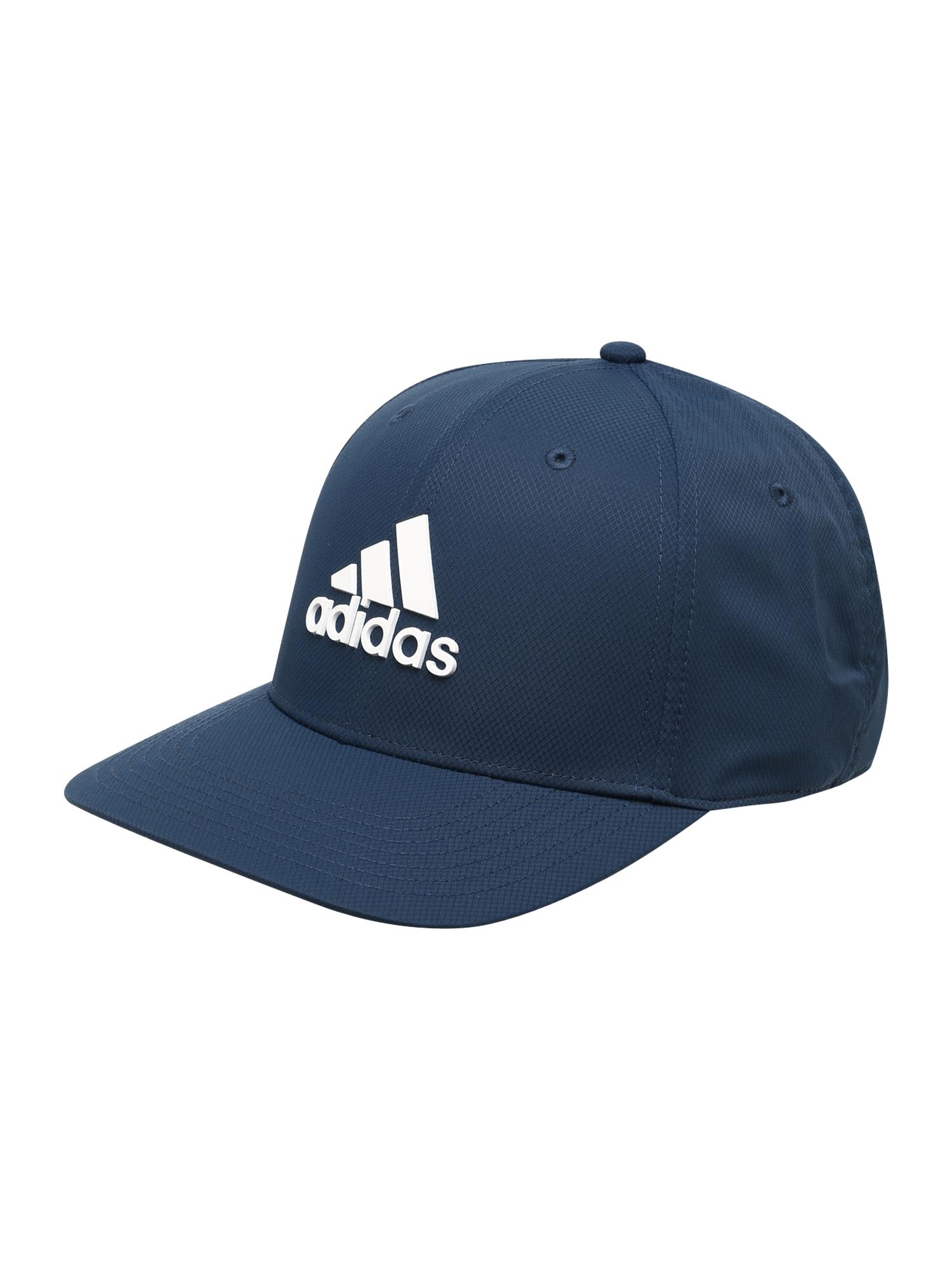 adidas Golf Sportinė kepurė tamsiai mėlyna / balta