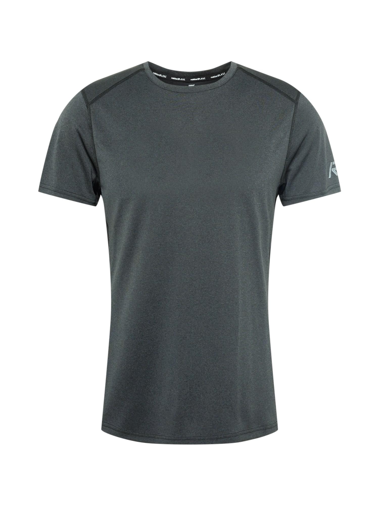 Rukka Funkční tričko 'MELKOLA'  tmavě šedá / světle šedá