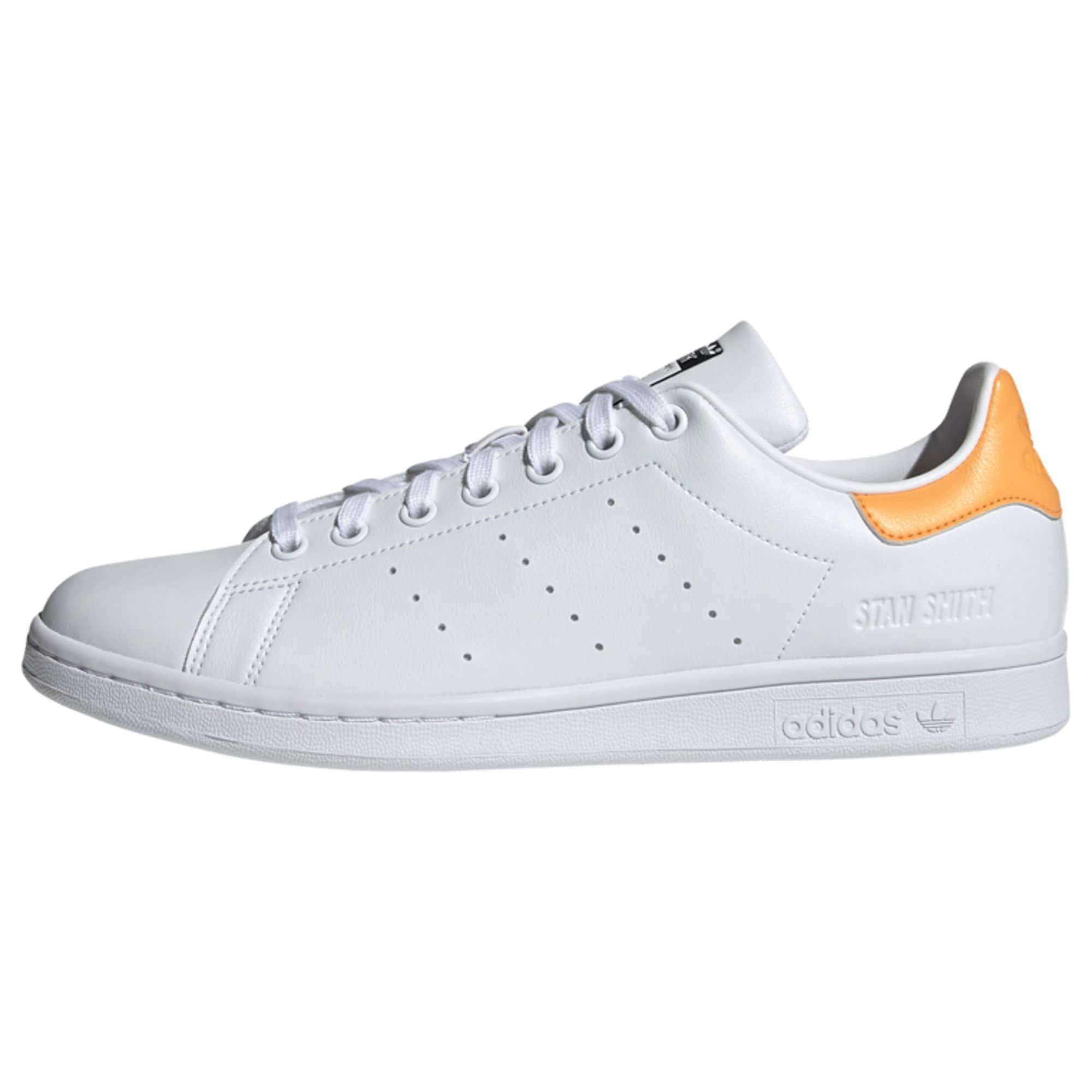 ADIDAS ORIGINALS Tenisky ' Stan Smith'  bílá / oranžová