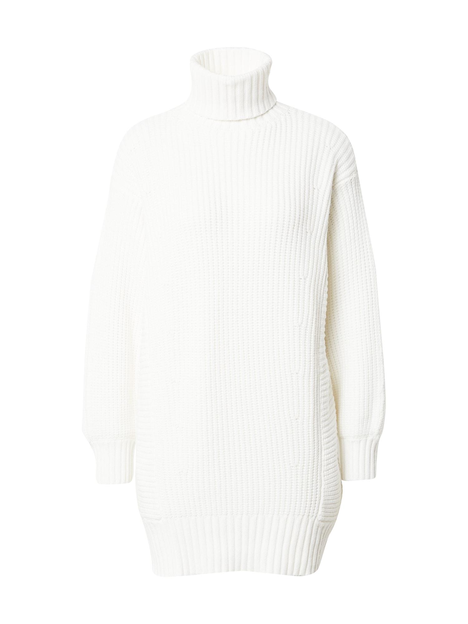 MINKPINK Megzta suknelė balta