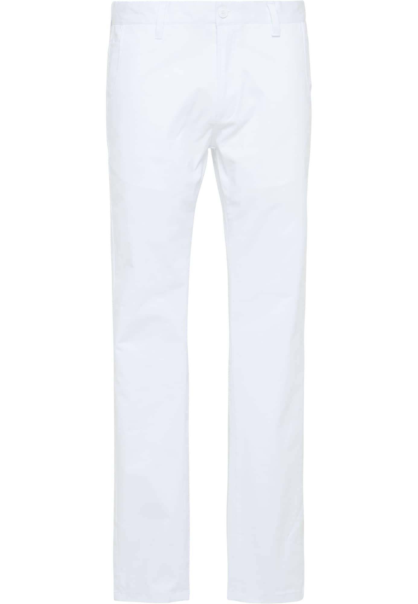 """DreiMaster Maritim """"Chino"""" stiliaus kelnės balta"""
